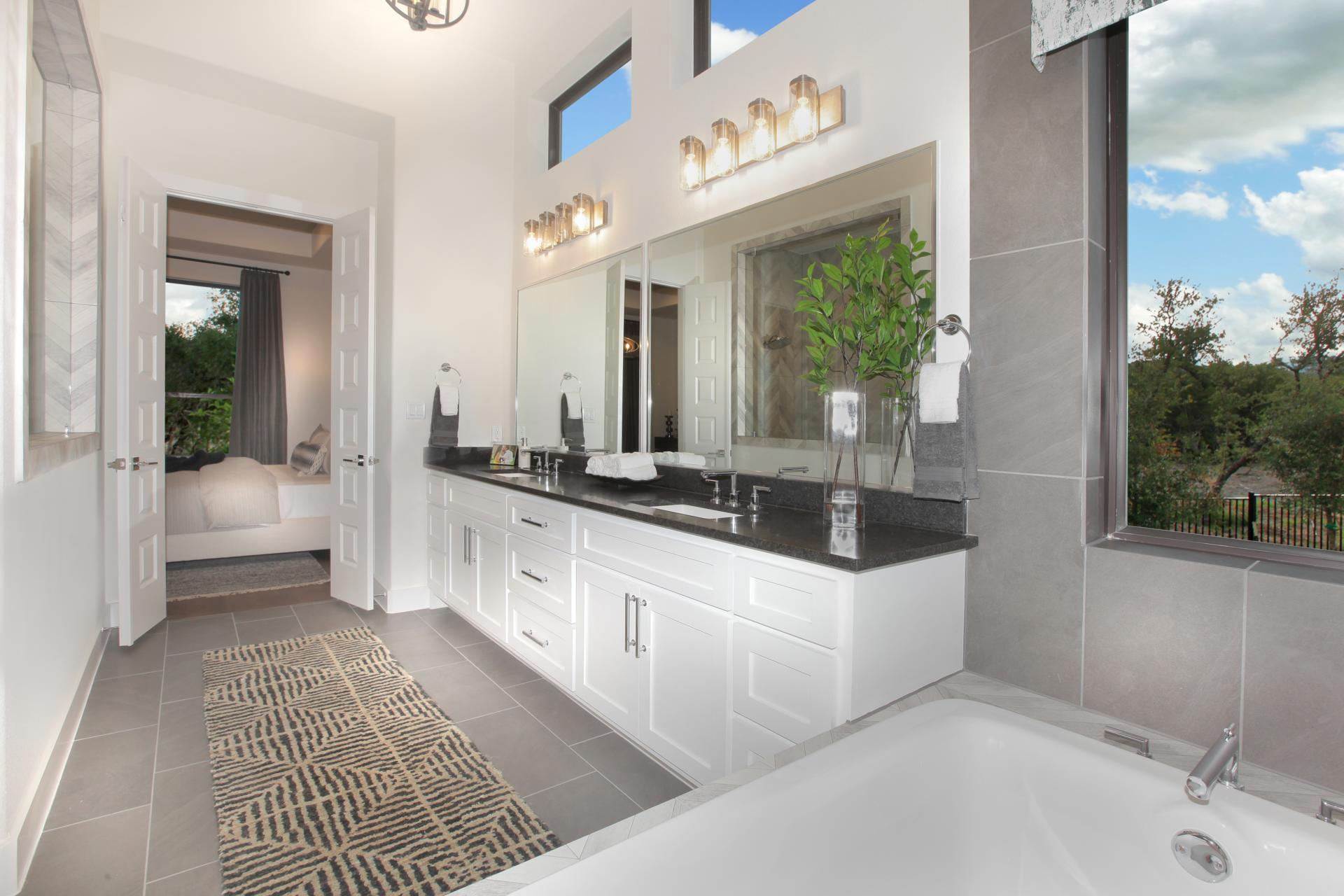 Bathroom featured in the Brookdale By Drees Custom Homes in Austin, TX