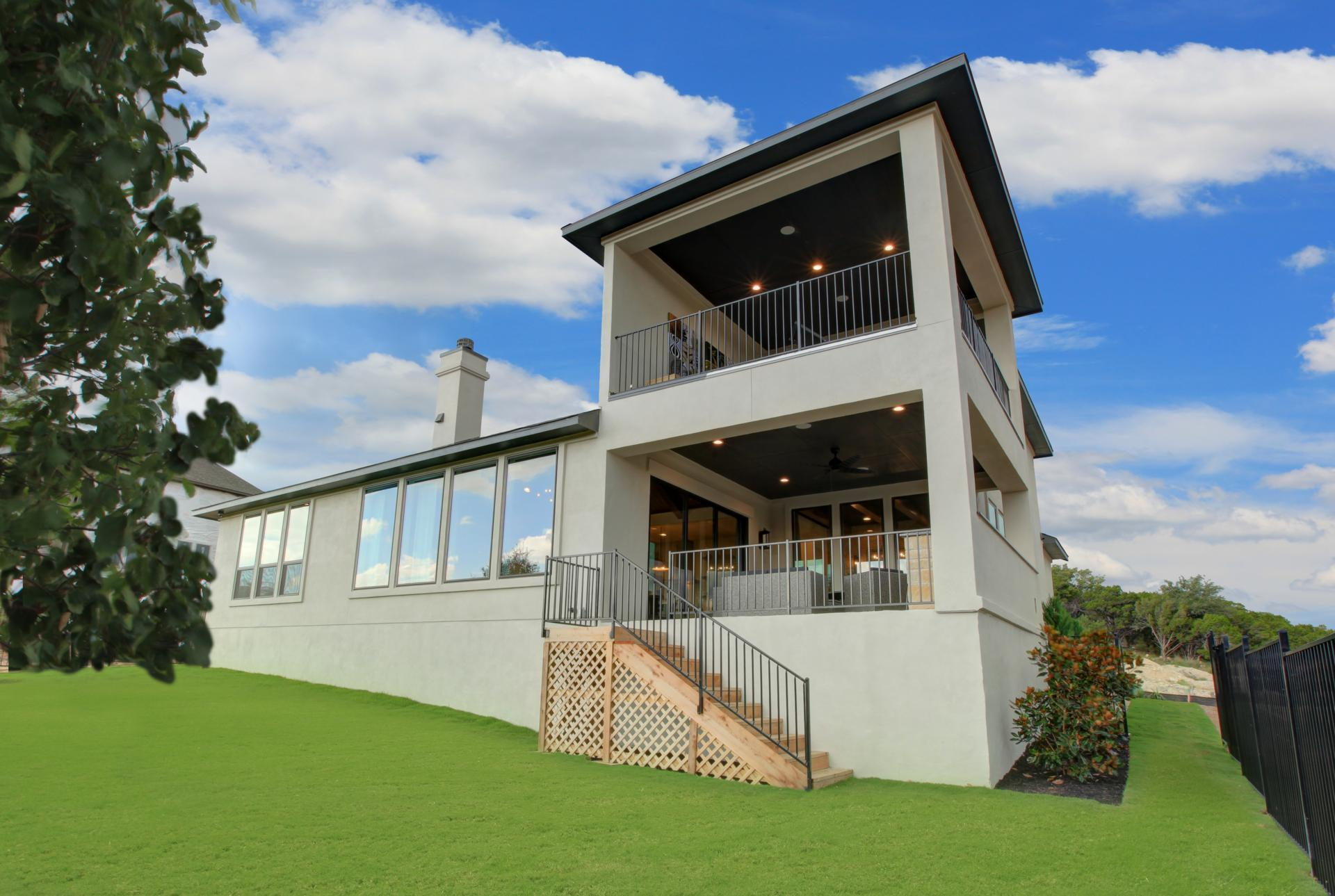 Exterior featured in the Brookdale By Drees Custom Homes in Austin, TX