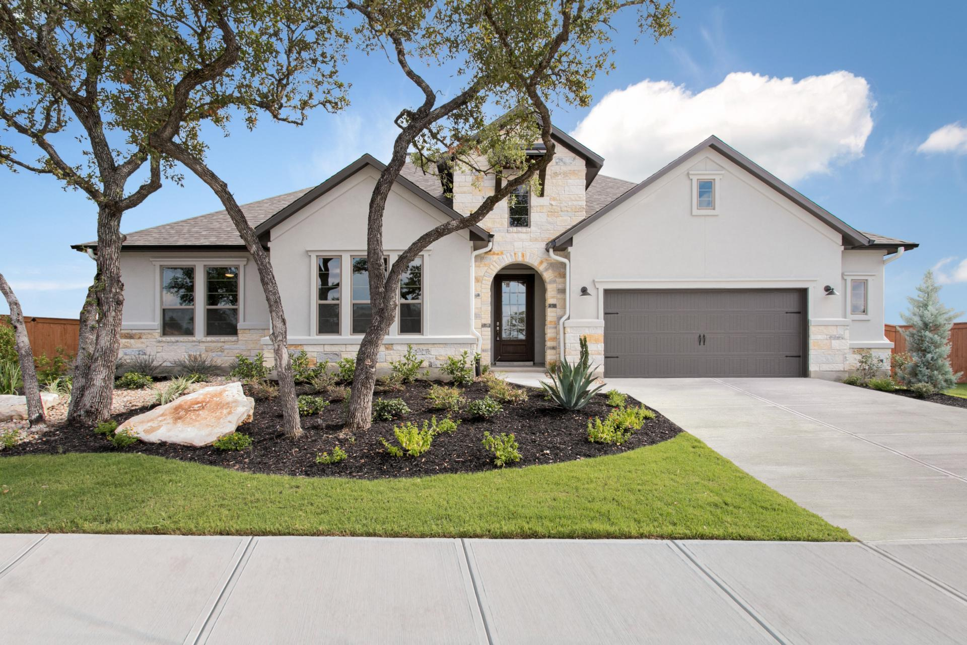 Exterior featured in the Annabelle By Drees Custom Homes in Austin, TX
