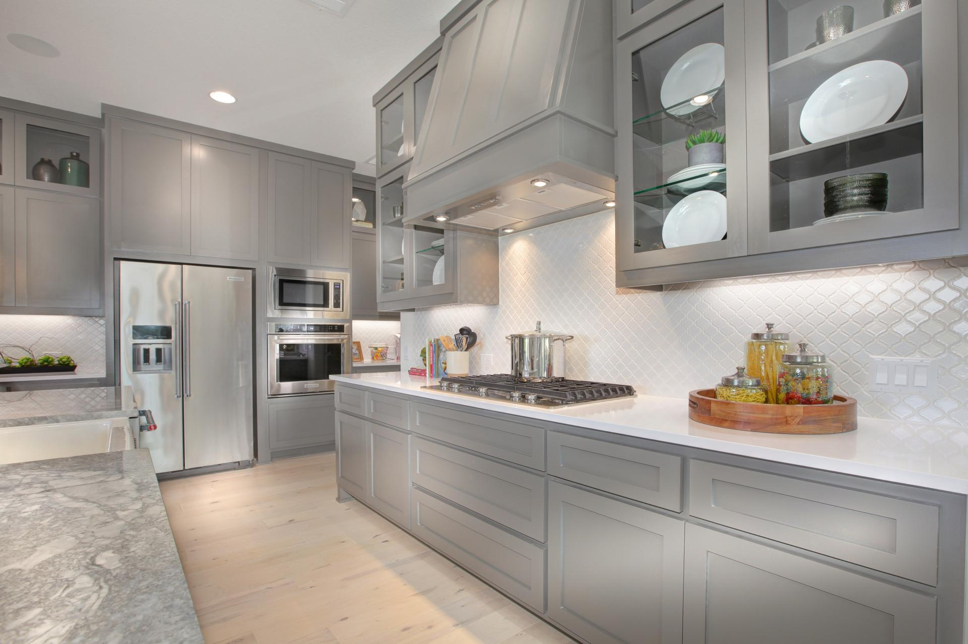 Kitchen featured in the Brady By Drees Custom Homes in Austin, TX