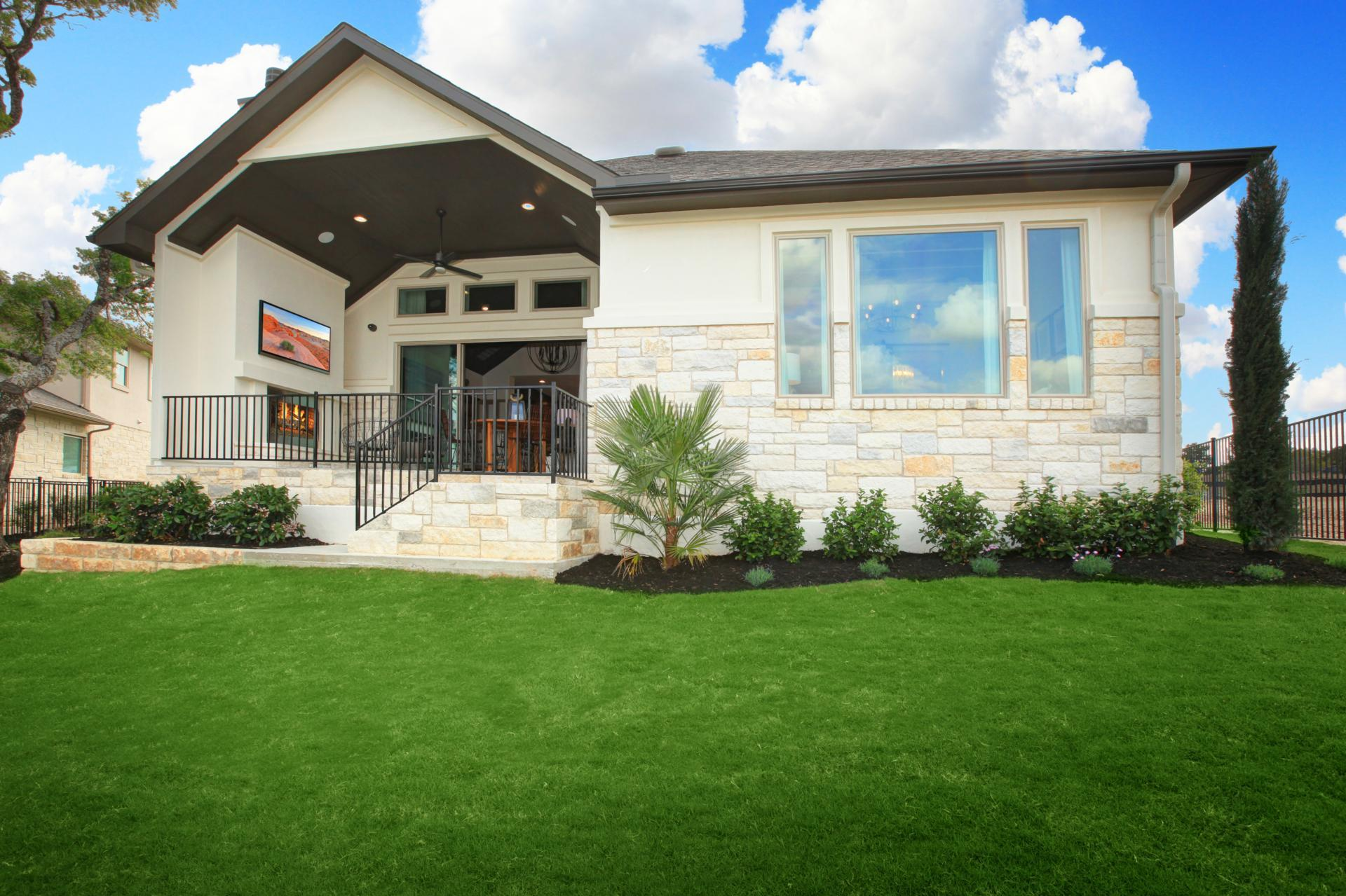 Exterior featured in the Brady By Drees Custom Homes in Austin, TX