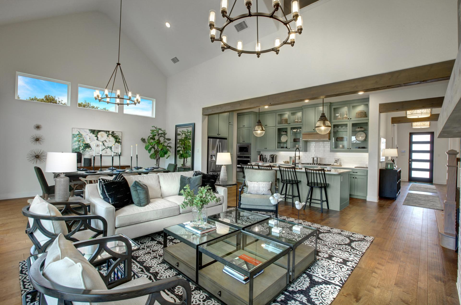 Living Area featured in the Brynlee By Drees Custom Homes in Austin, TX