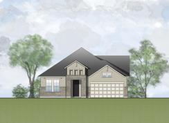 Cammrie - Wolf Ranch - 60': Georgetown, Texas - Drees Custom Homes