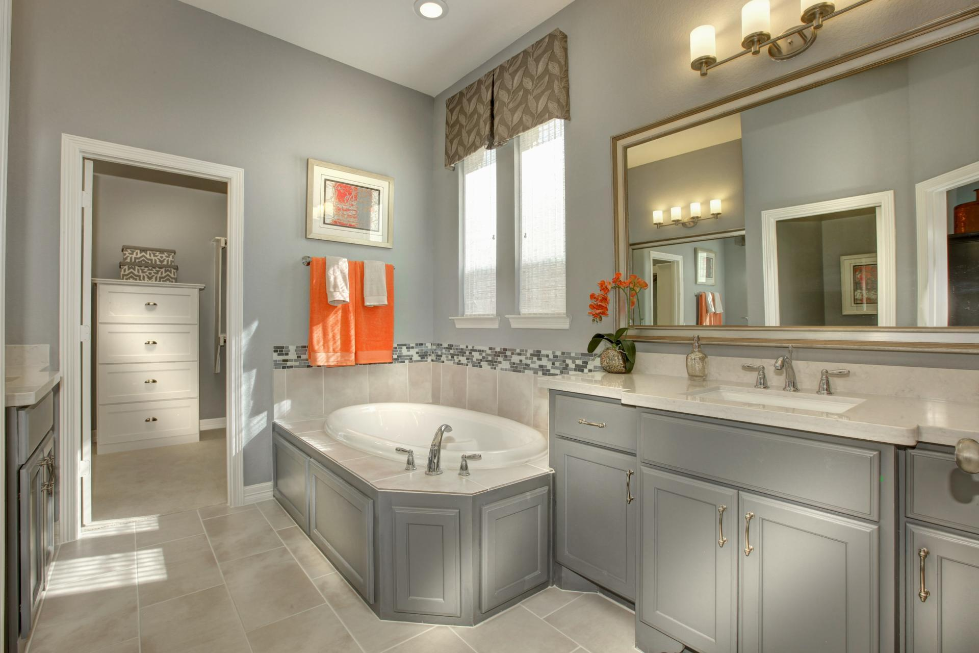 Bathroom featured in the Deerfield II By Drees Custom Homes in Austin, TX