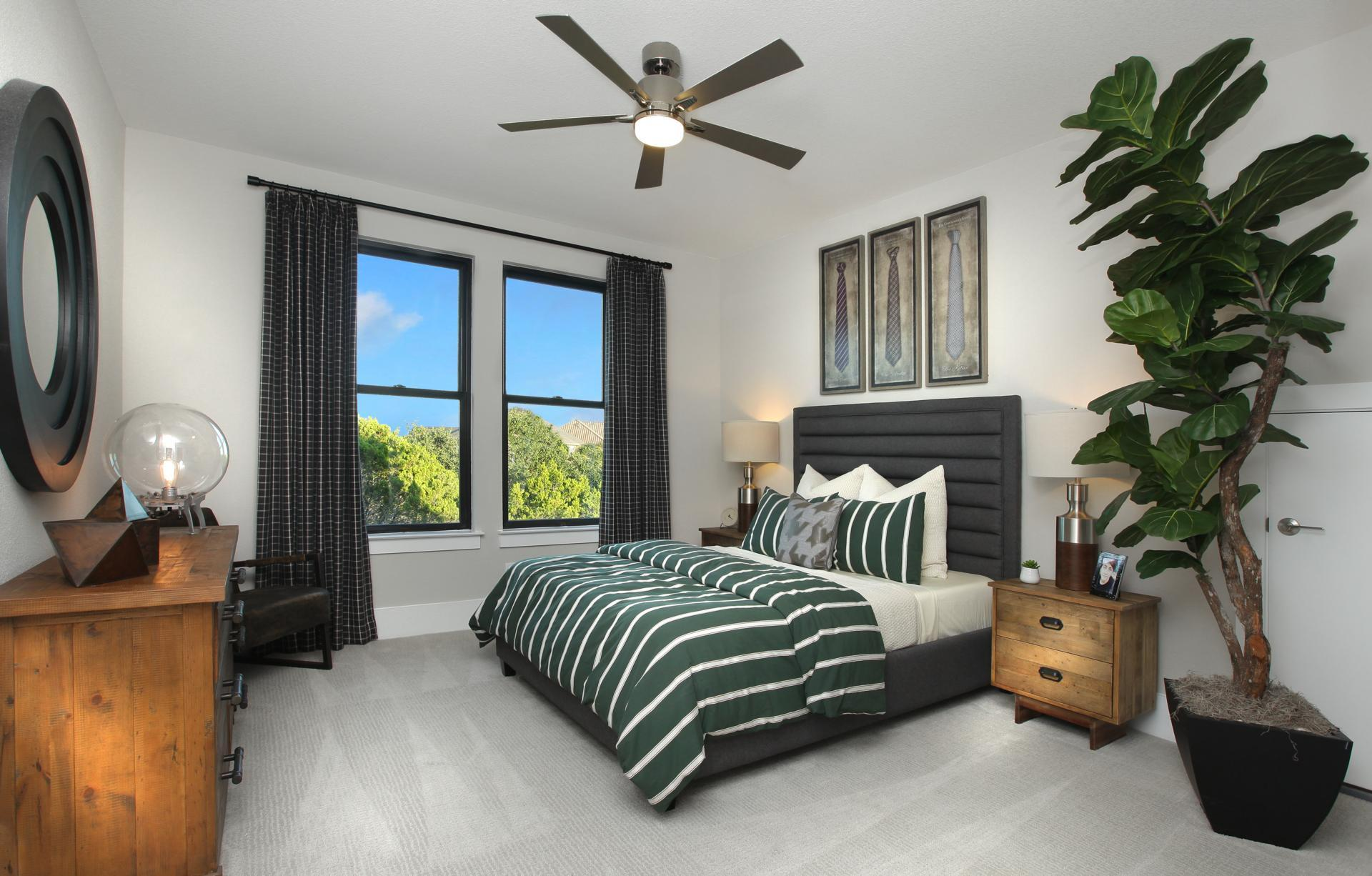 Bedroom featured in the Lynmar II By Drees Custom Homes in Austin, TX