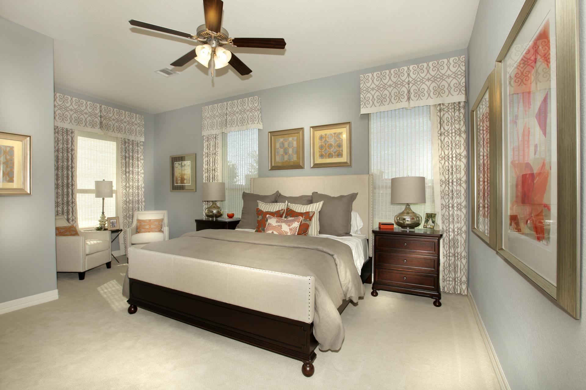 Bedroom featured in the Deerfield II By Drees Custom Homes in Austin, TX