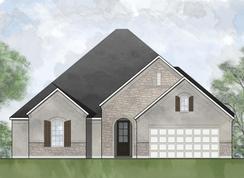 Vilano - Wolf Ranch - 60': Georgetown, Texas - Drees Custom Homes