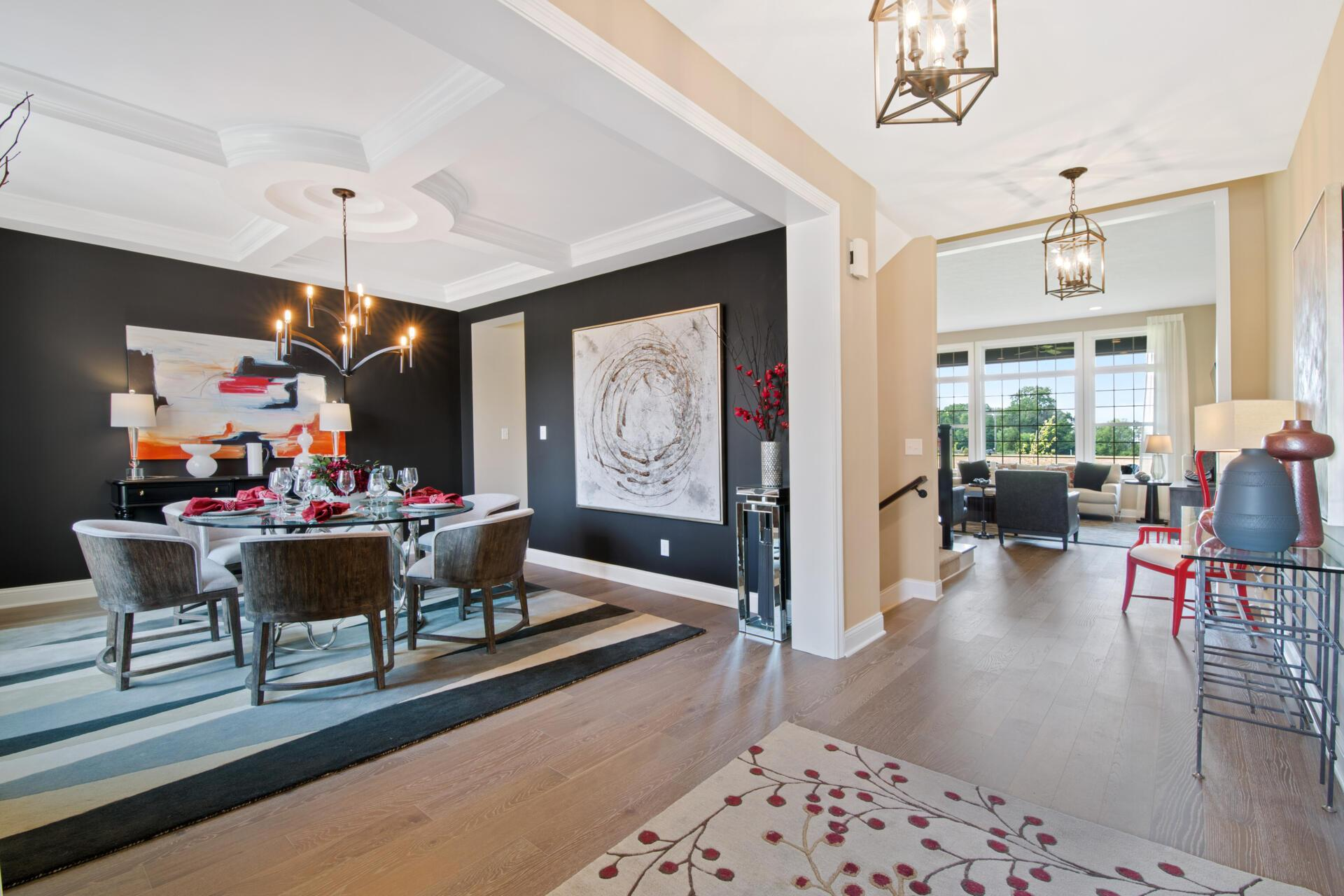 Living Area featured in the Crestwood By Drees Homes in Indianapolis, IN