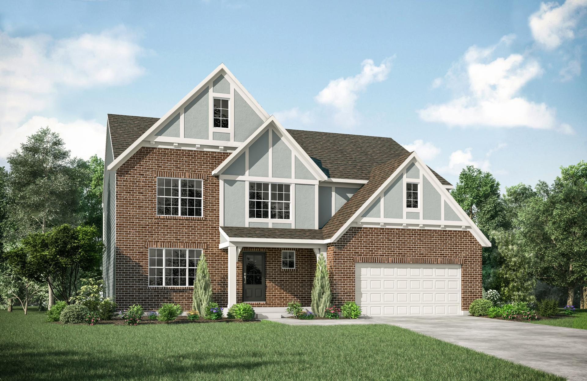 Exterior featured in the Alden By Drees Homes in Cincinnati, OH