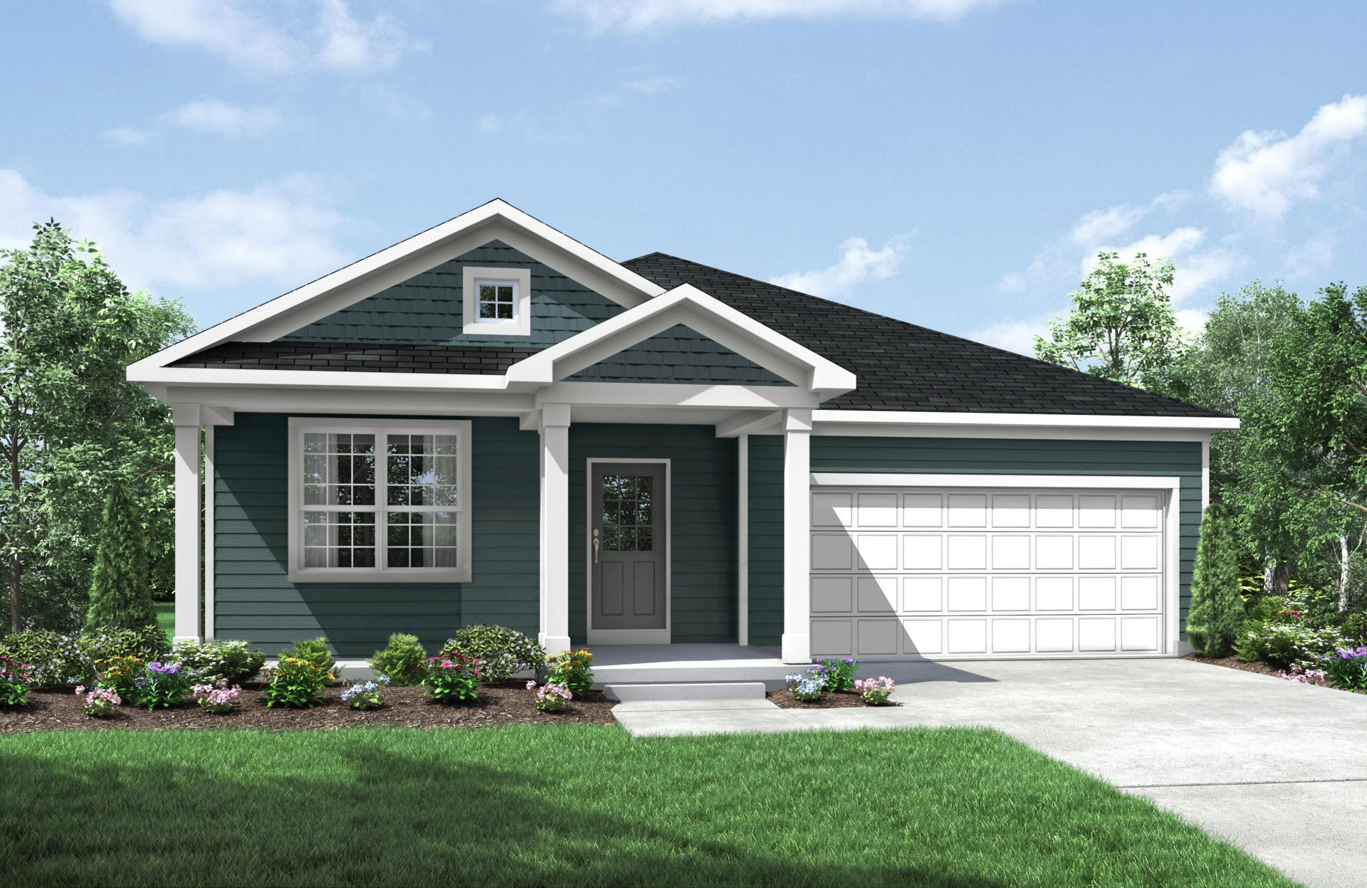 Exterior featured in the Alexander By Drees Homes in Cincinnati, KY
