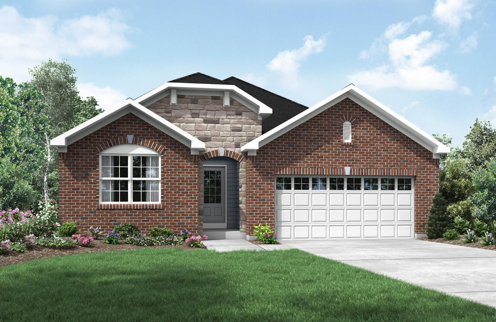 Exterior featured in the Alexander By Drees Homes in Cincinnati, OH