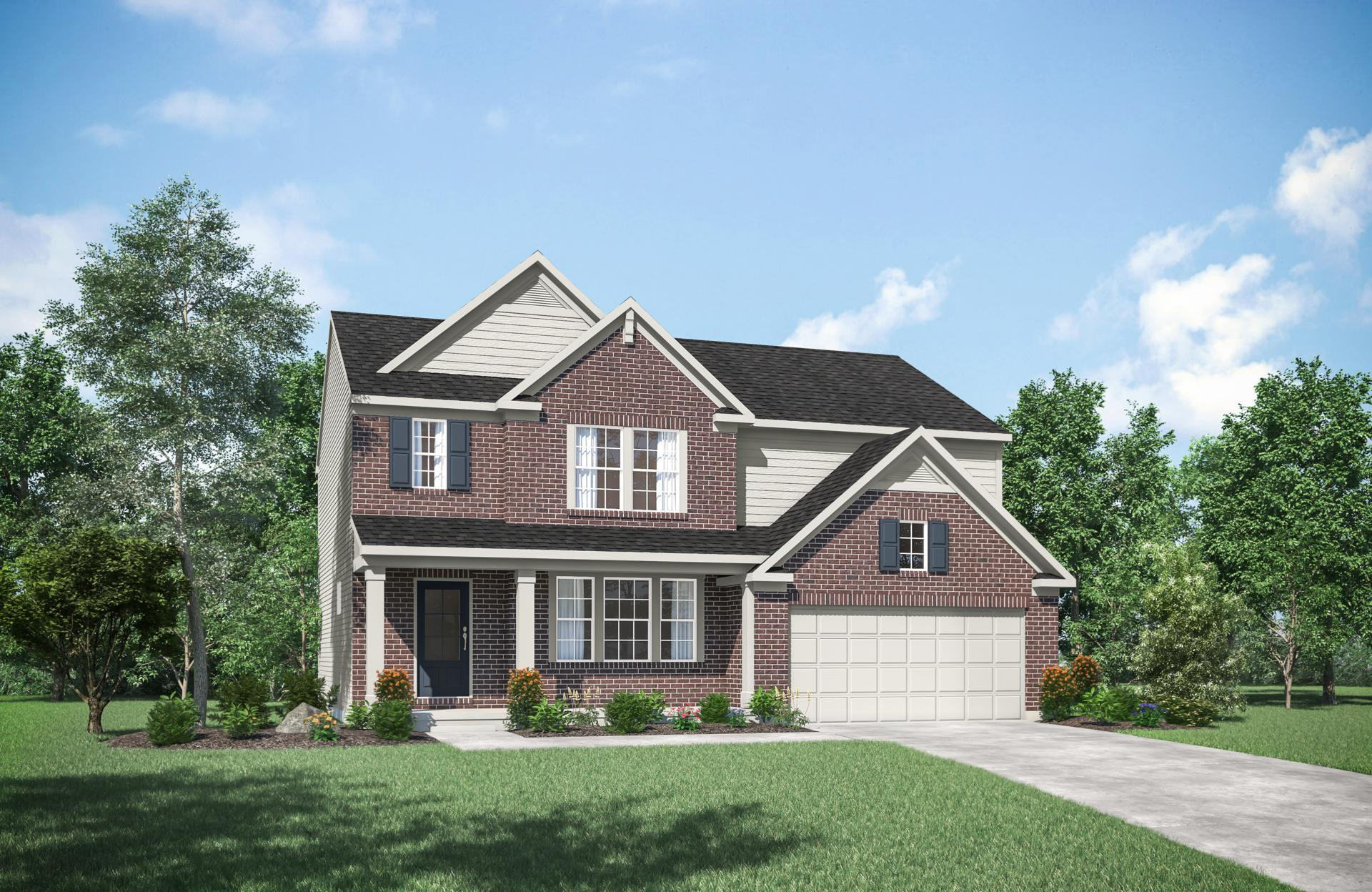 Exterior featured in the Ashton By Drees Homes in Cincinnati, KY