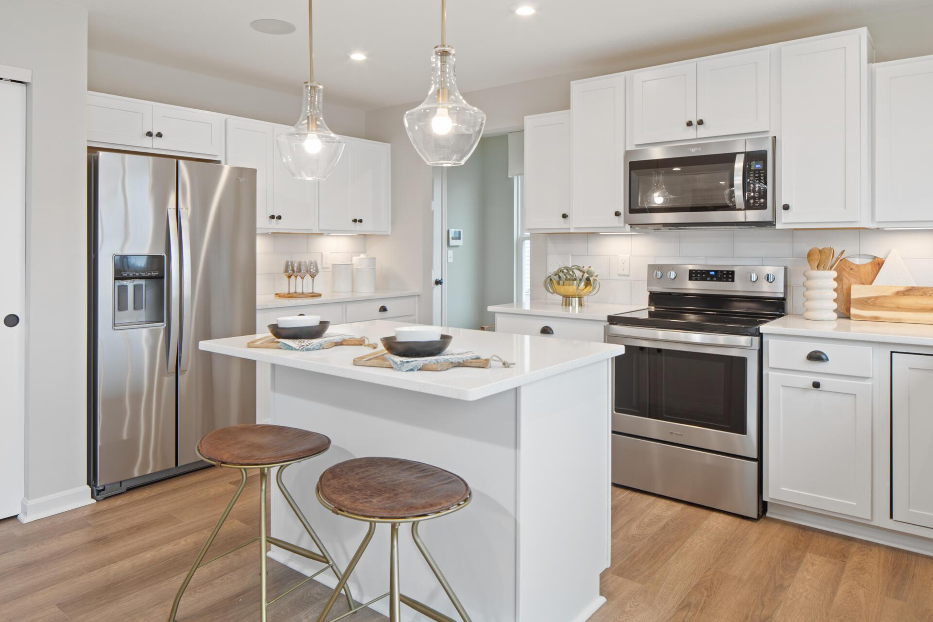 Kitchen featured in the Saxon By Drees Homes in Cincinnati, OH