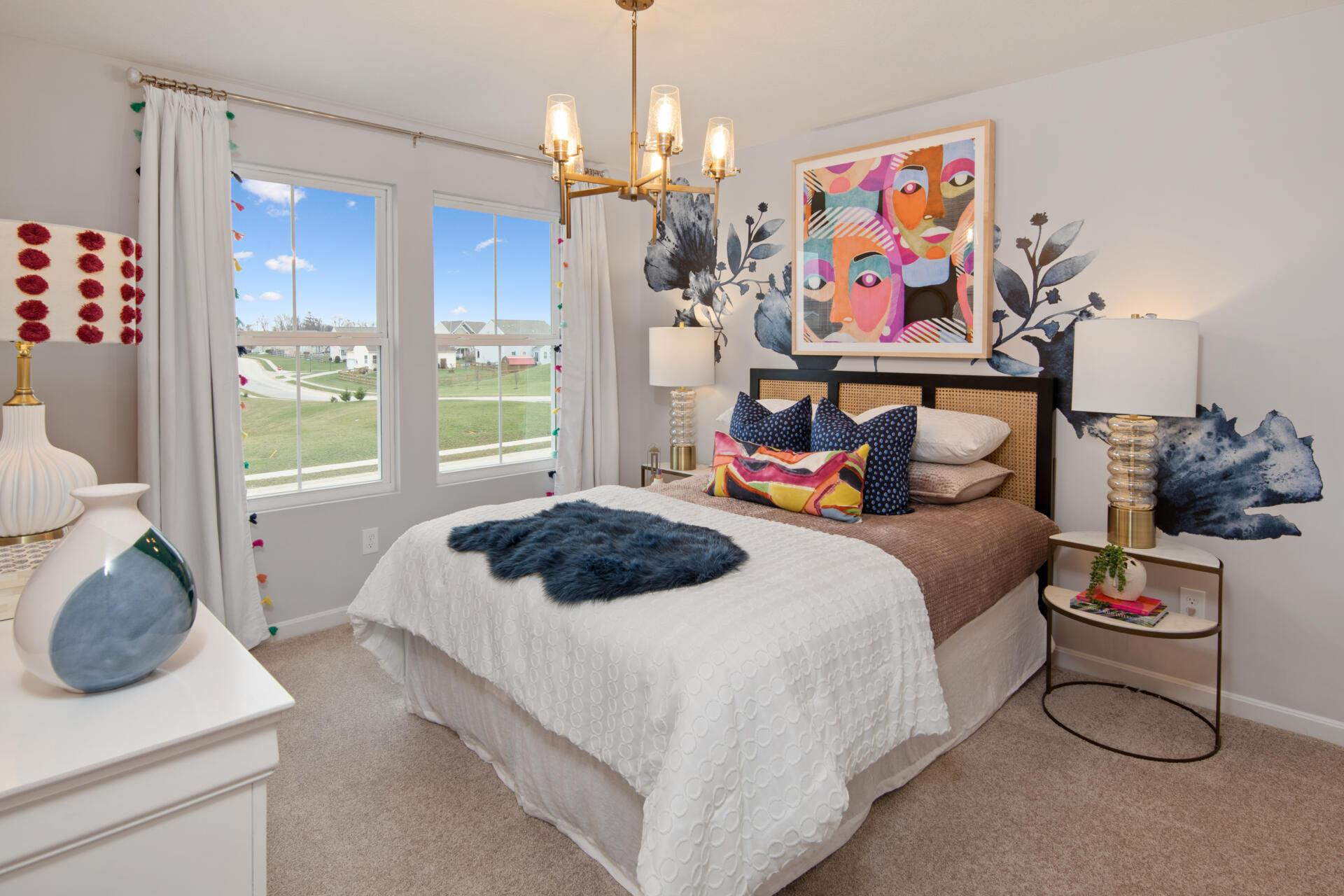 Bedroom featured in the Saxon By Drees Homes in Cincinnati, OH