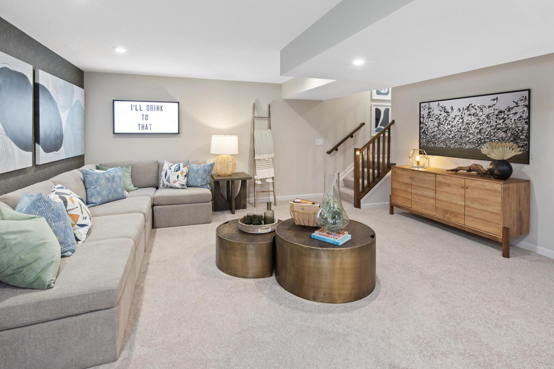 Living Area featured in the Saxon By Drees Homes in Cincinnati, OH