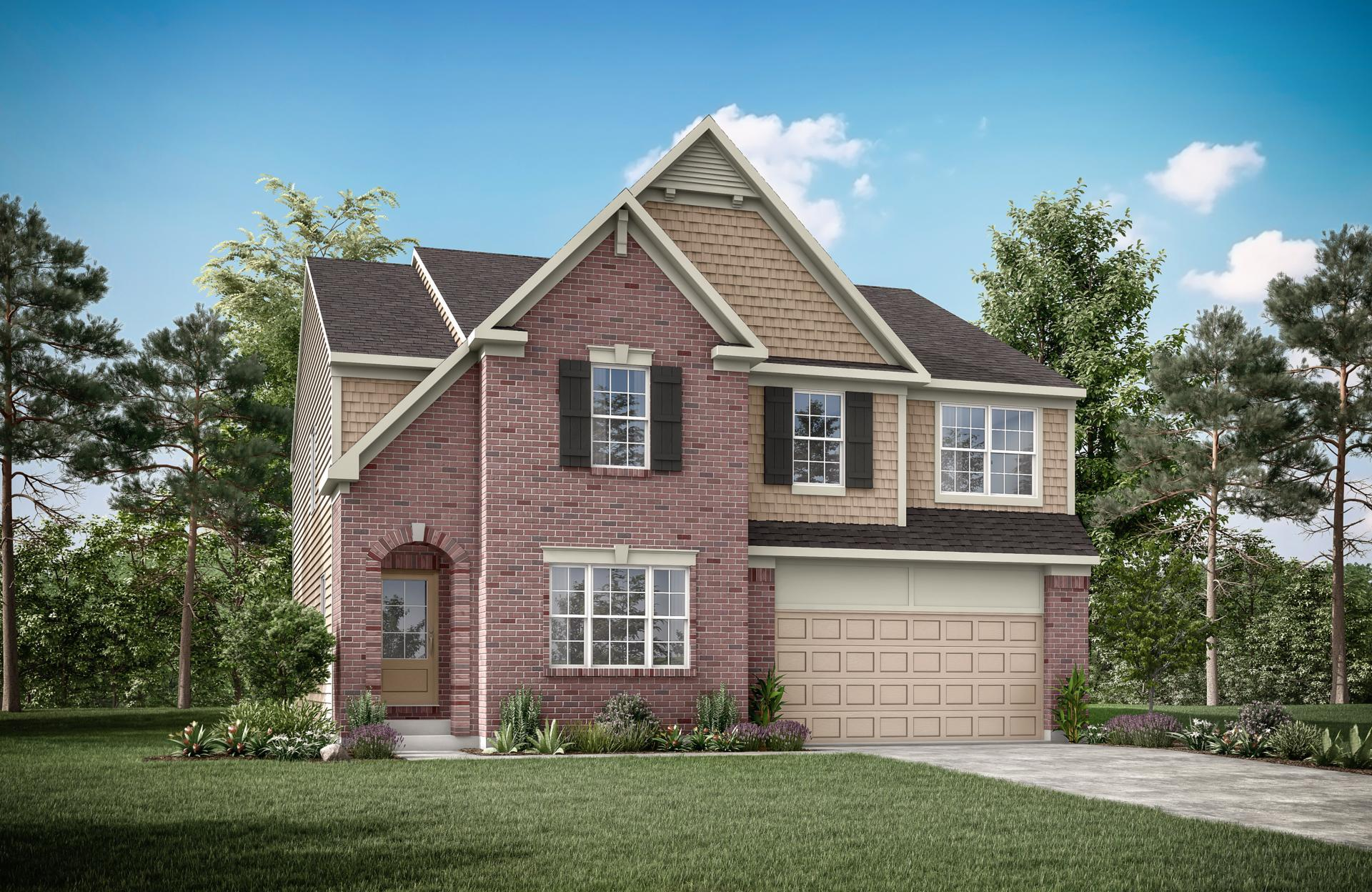 Exterior featured in the Wembley By Drees Homes in Cincinnati, OH