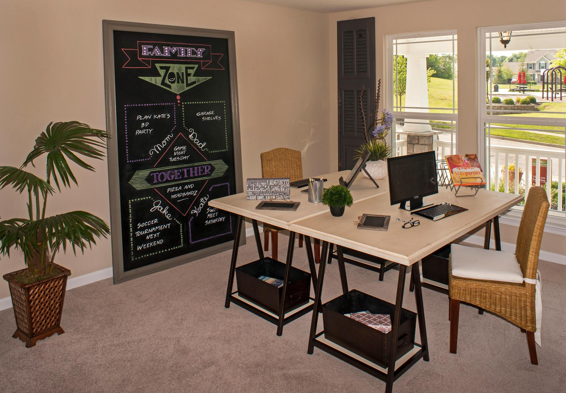 Living Area featured in the Wembley By Drees Homes in Cincinnati, OH
