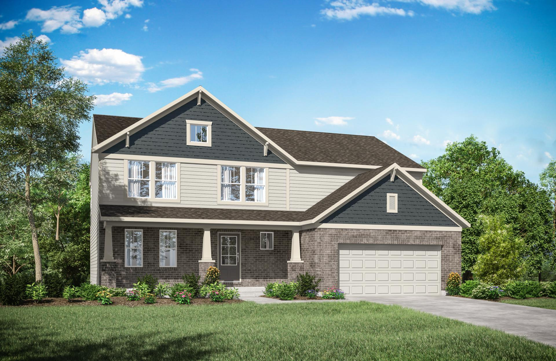 Exterior featured in the Alwick By Drees Homes in Cincinnati, KY