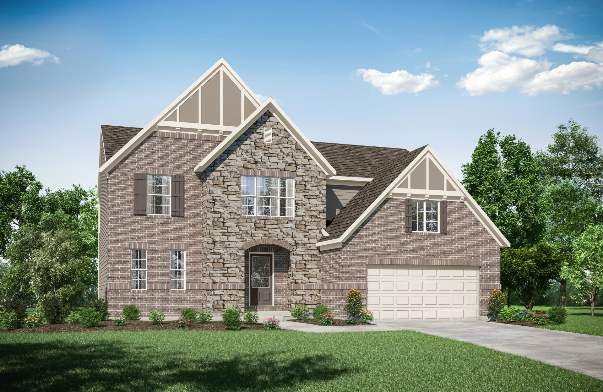Exterior featured in the Alwick By Drees Homes in Cincinnati, OH