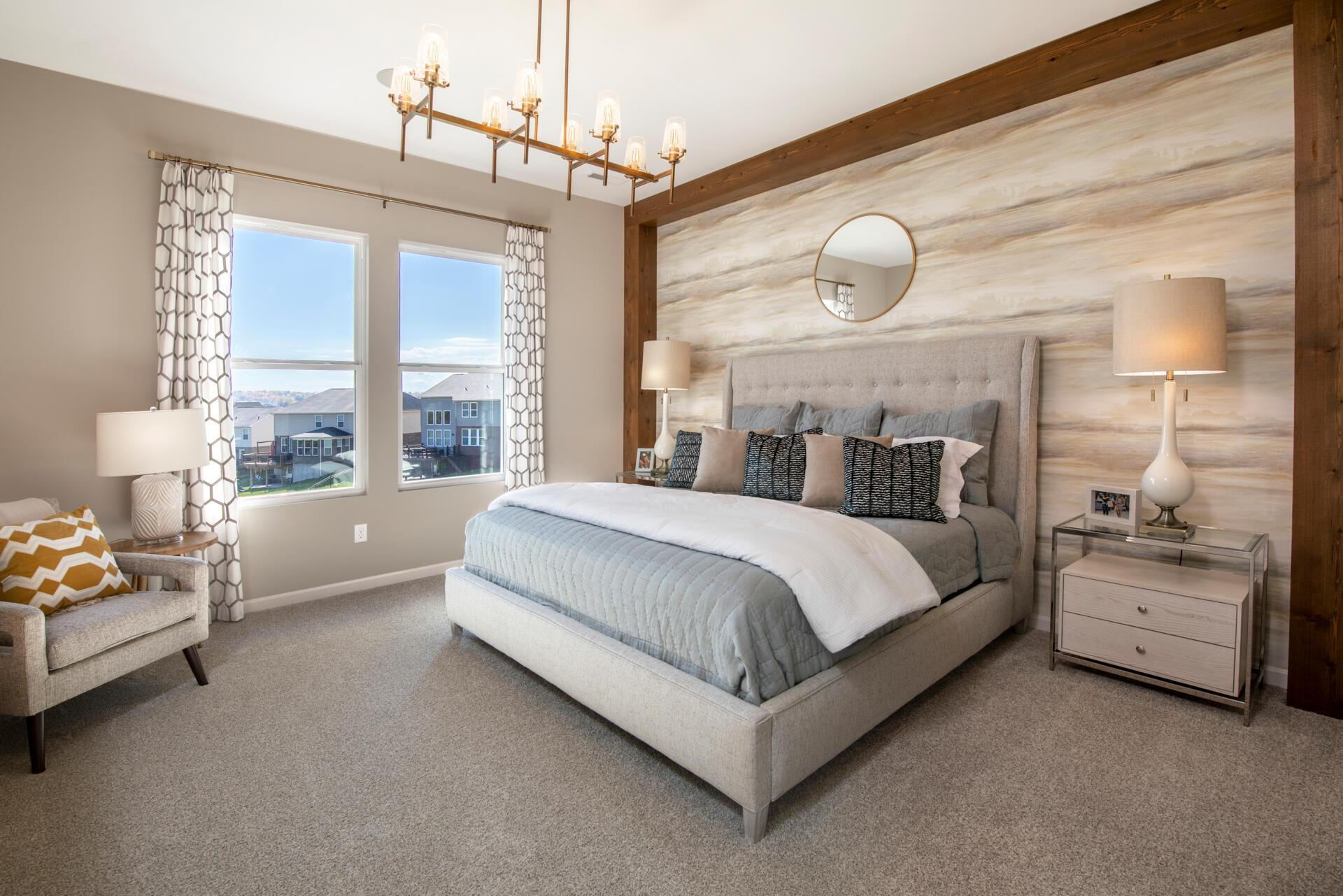 Bedroom featured in the Alwick By Drees Homes in Cincinnati, OH