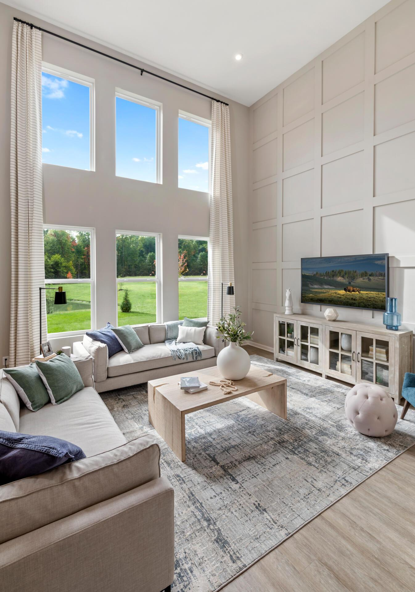 Living Area featured in the Alwick By Drees Homes in Cincinnati, OH