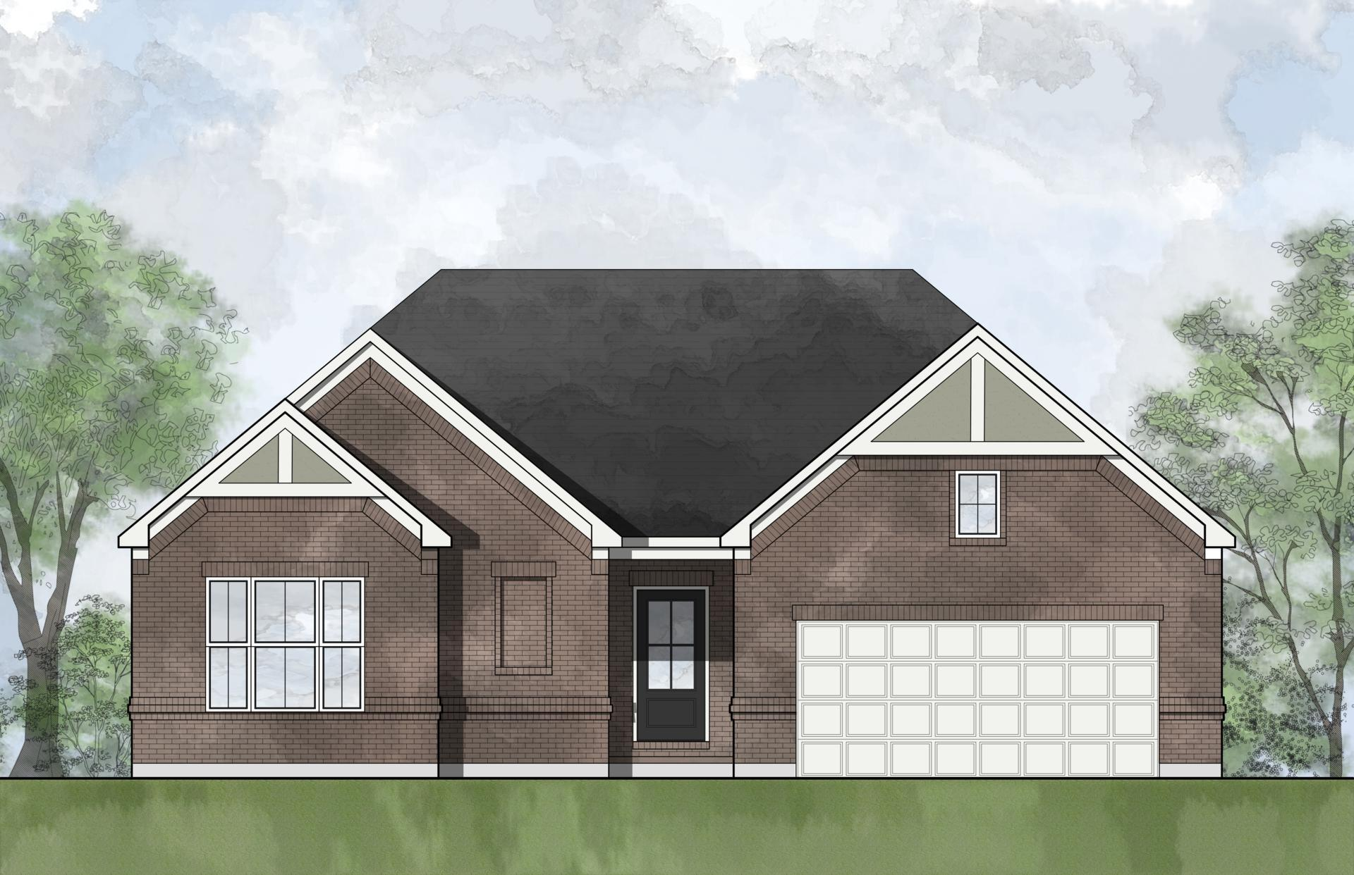 Exterior featured in the Hialeah By Drees Homes in Cincinnati, OH