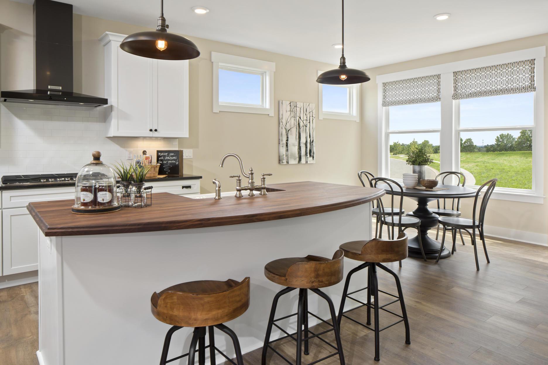 Kitchen featured in the Vanderburgh By Drees Homes in Cincinnati, KY