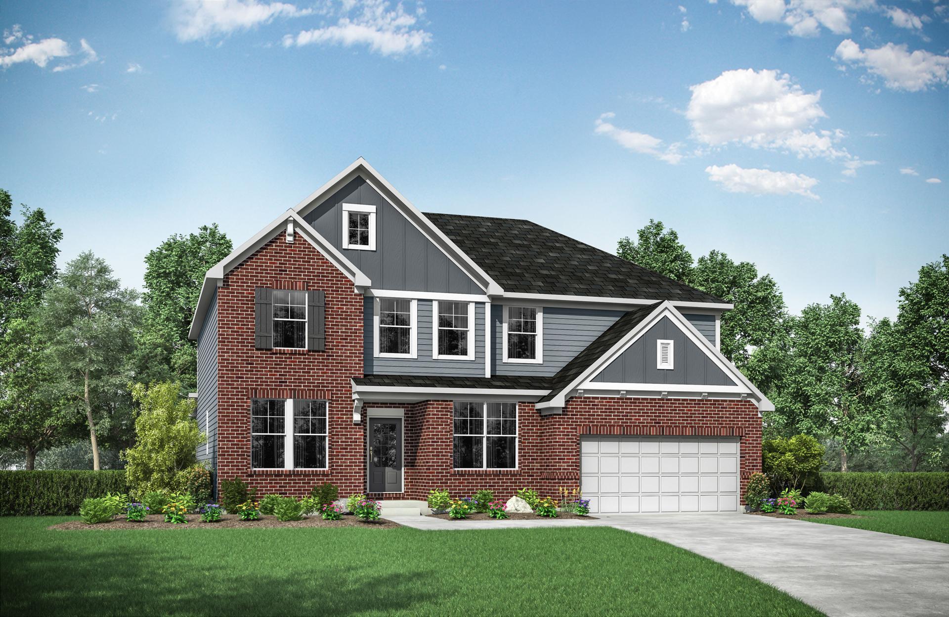 Exterior featured in the Vanderburgh By Drees Homes in Cincinnati, KY