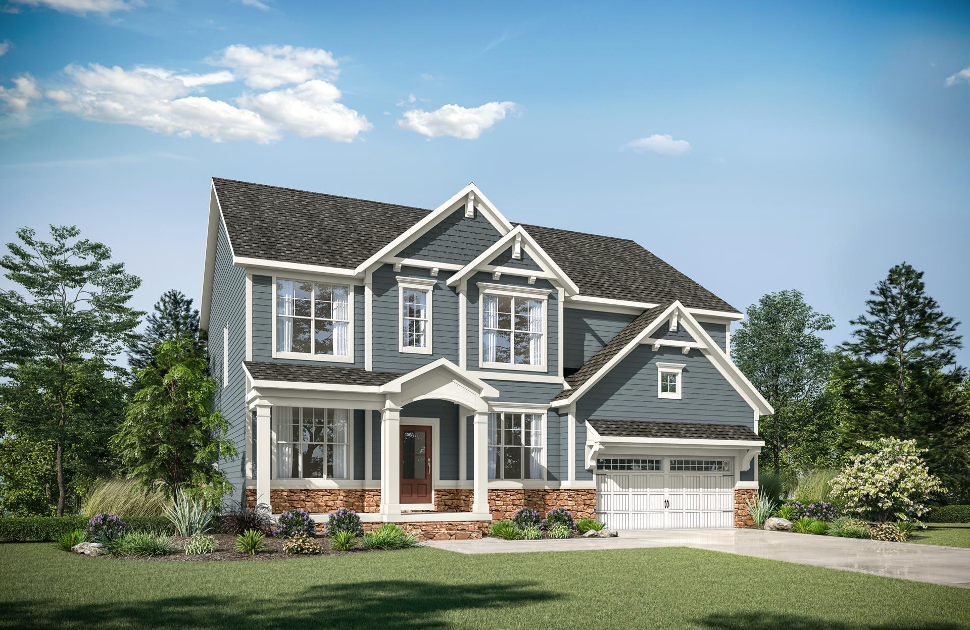 Exterior featured in the Buchanan By Drees Homes in Raleigh-Durham-Chapel Hill, NC