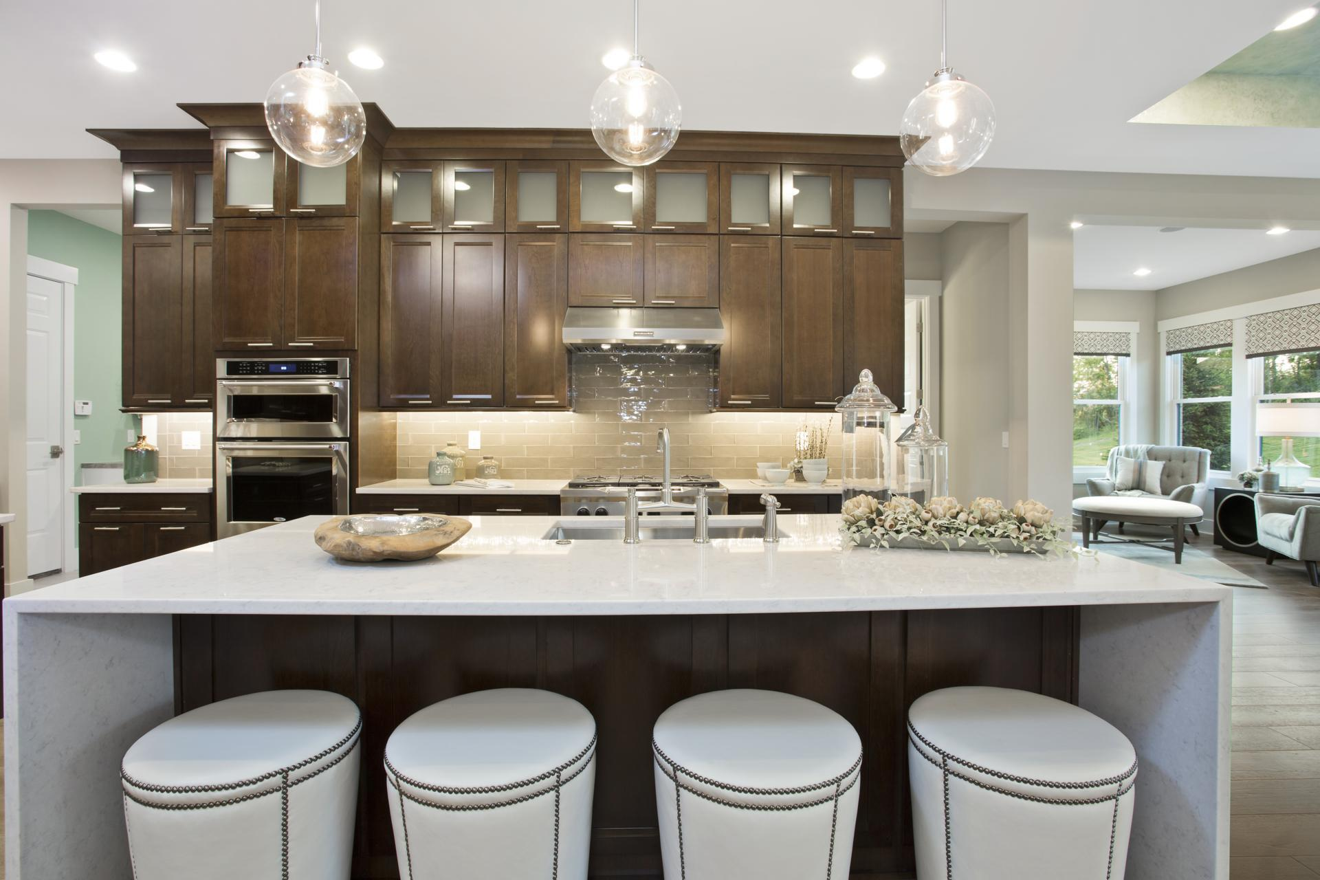 Kitchen featured in the Sebastian By Drees Homes in Indianapolis, IN