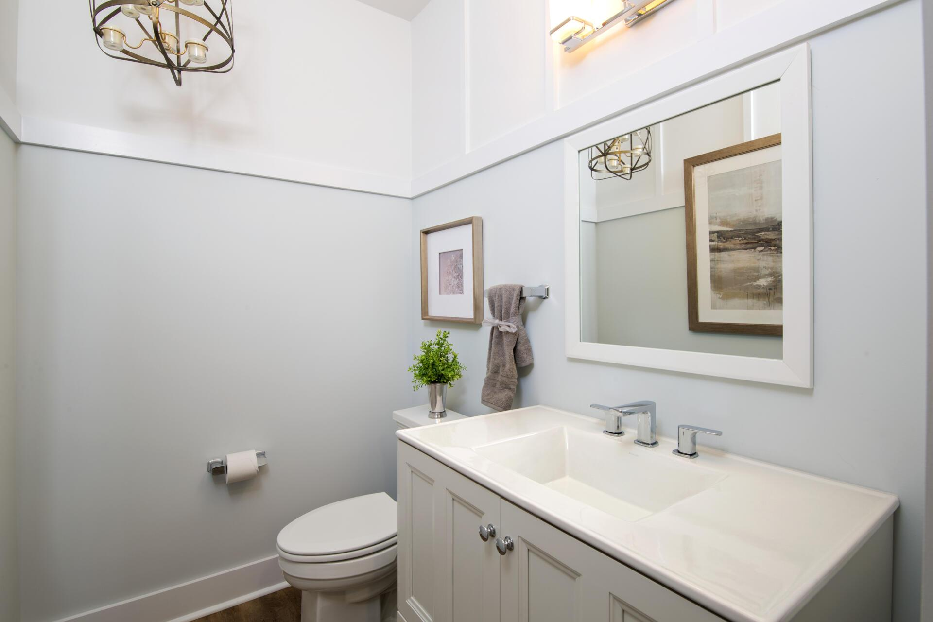 Bathroom featured in the Vanderburgh By Drees Homes in Indianapolis, IN
