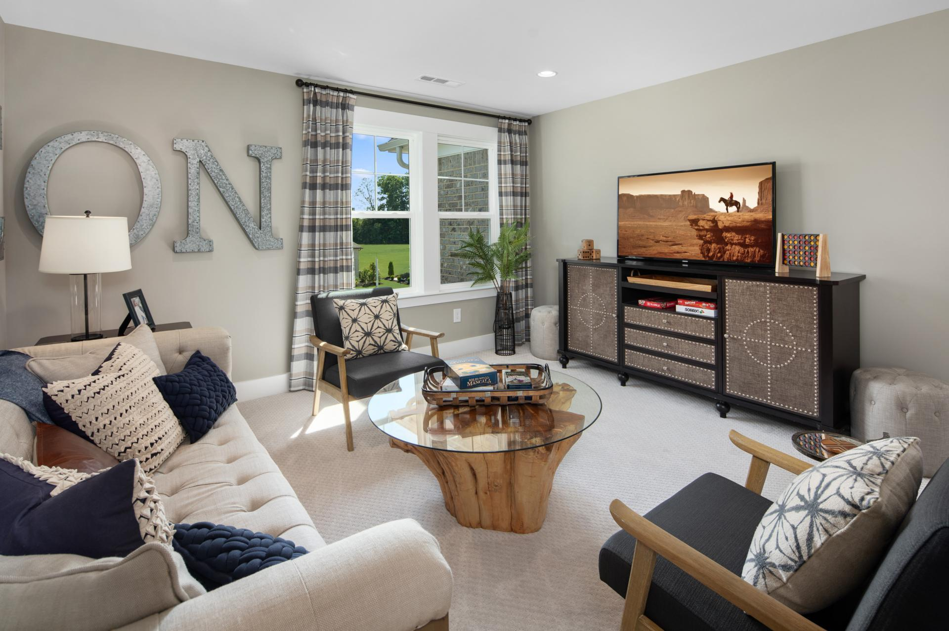 Living Area featured in the Everly By Drees Homes in Nashville, TN