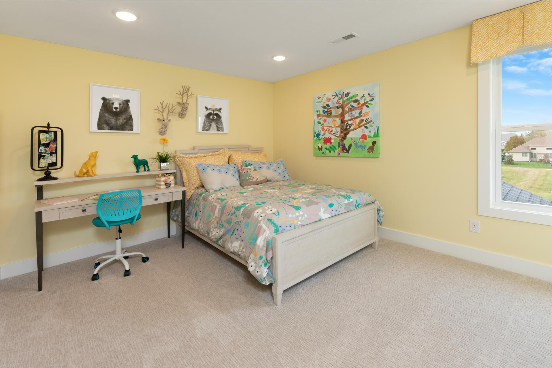 Bedroom featured in the Belleville By Drees Homes in Cleveland, OH