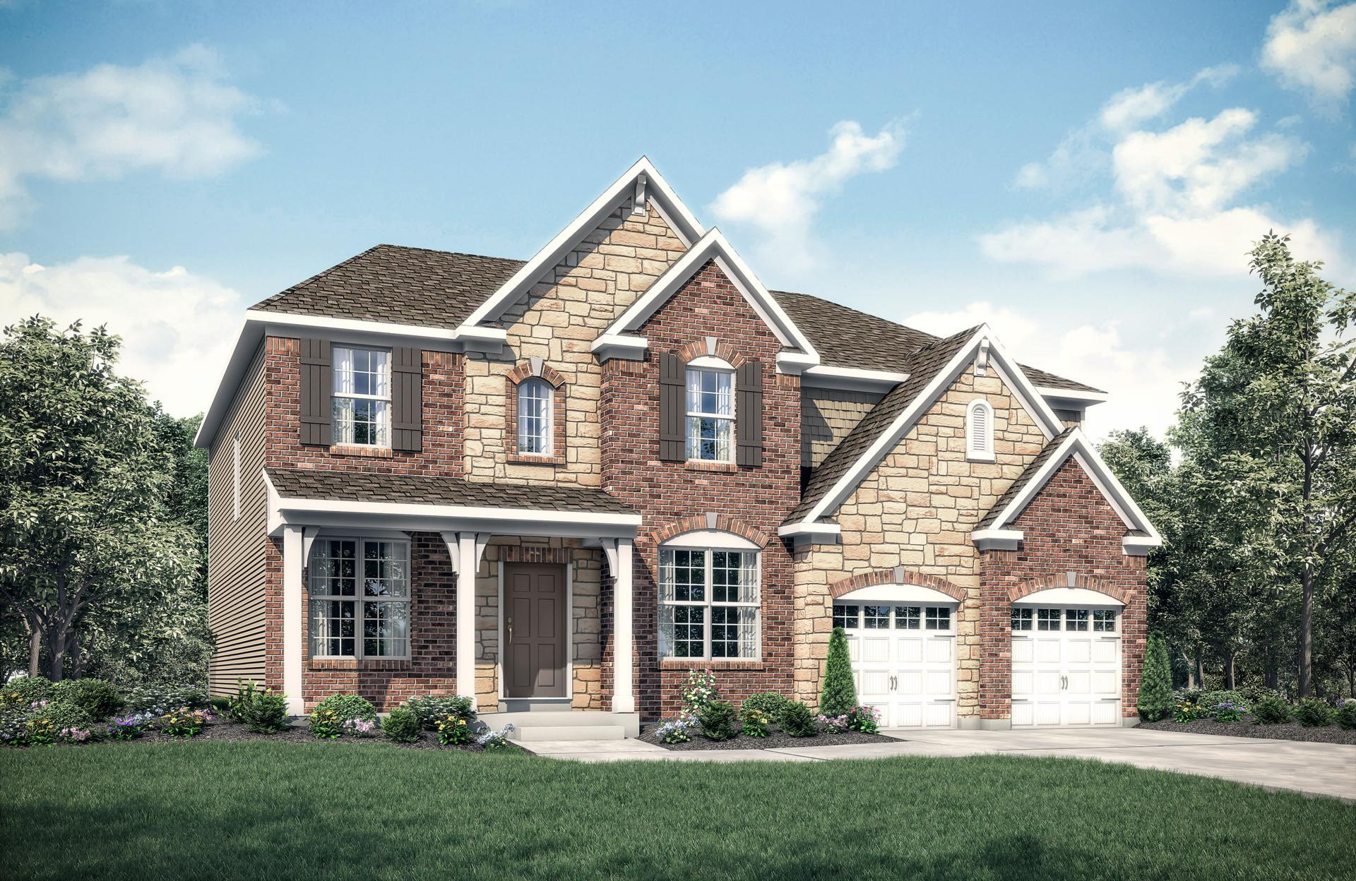 Exterior featured in the Buchanan By Drees Homes in Cleveland, OH