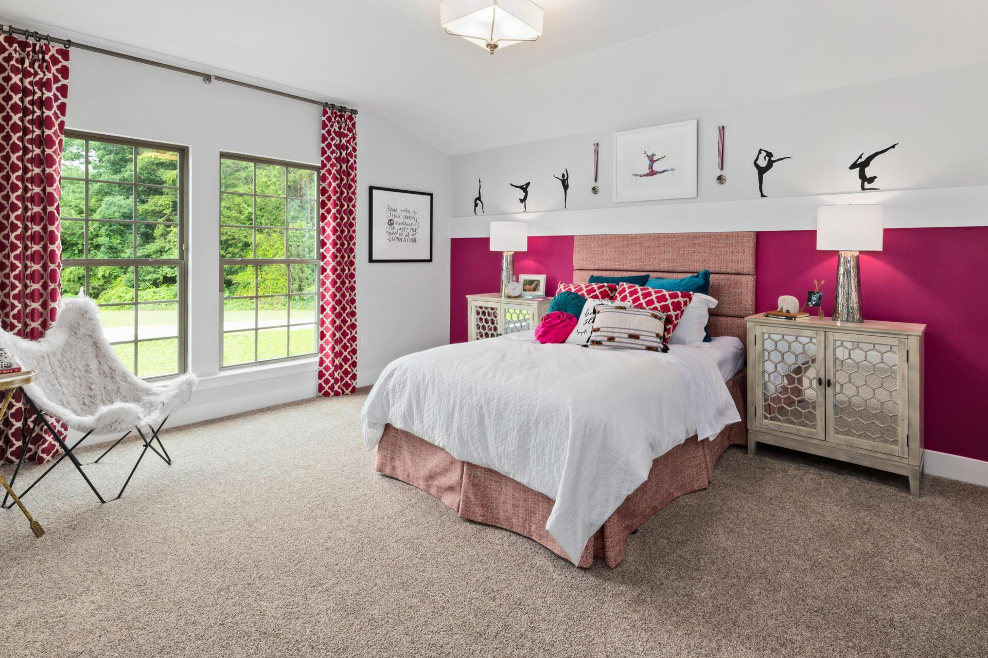 Bedroom featured in the Buchanan By Drees Homes in Cleveland, OH
