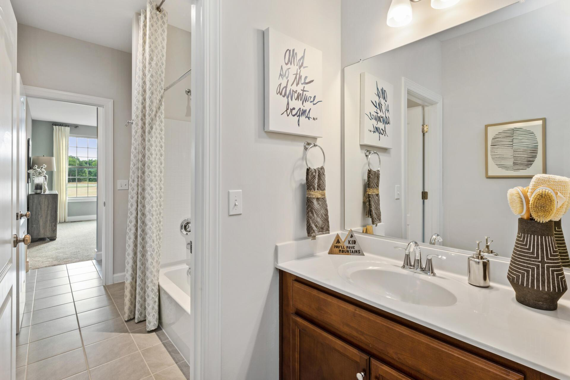 Bathroom featured in the Buchanan By Drees Homes in Cleveland, OH