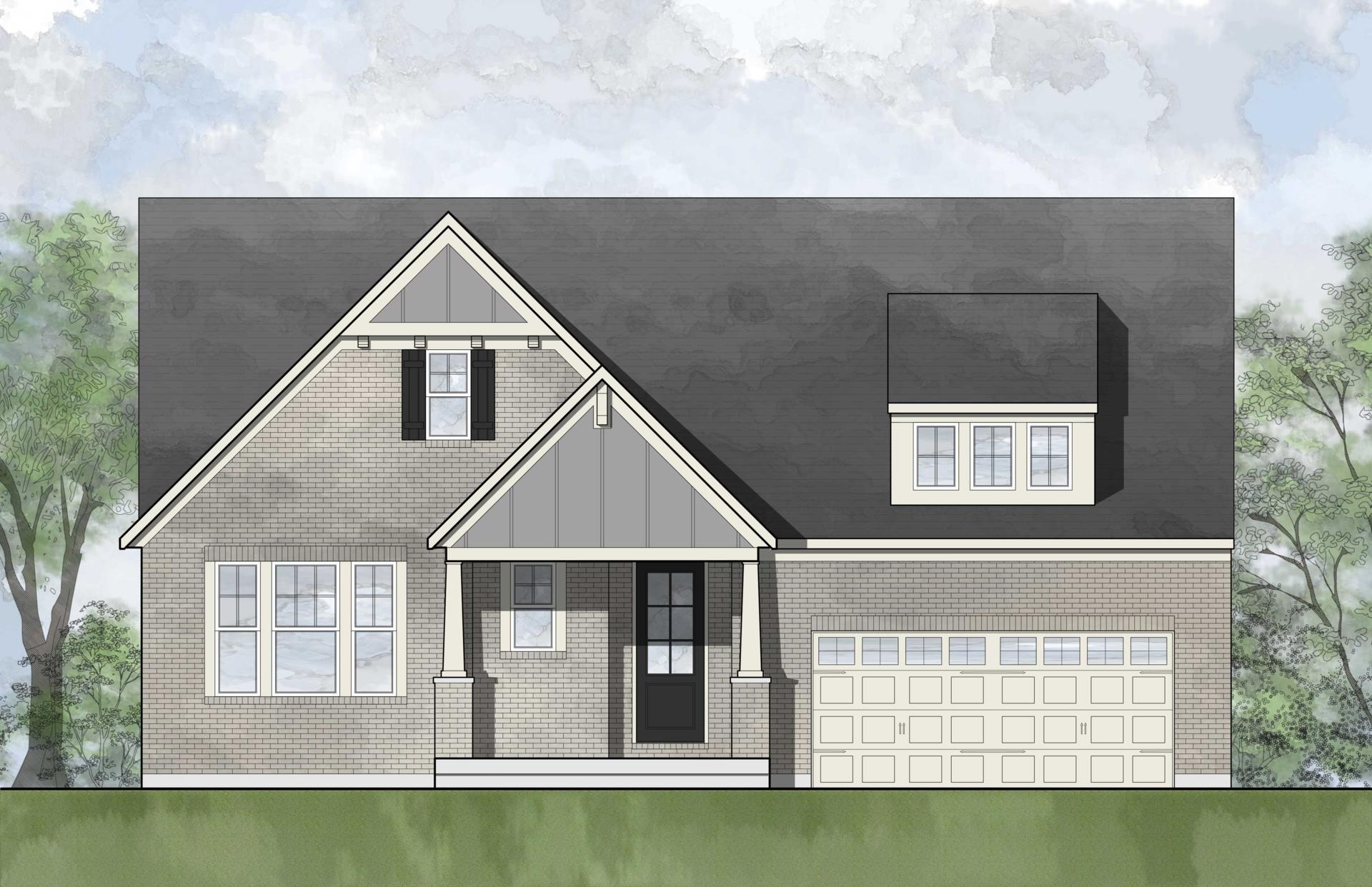 Exterior featured in the Finley By Drees Homes in Cleveland, OH