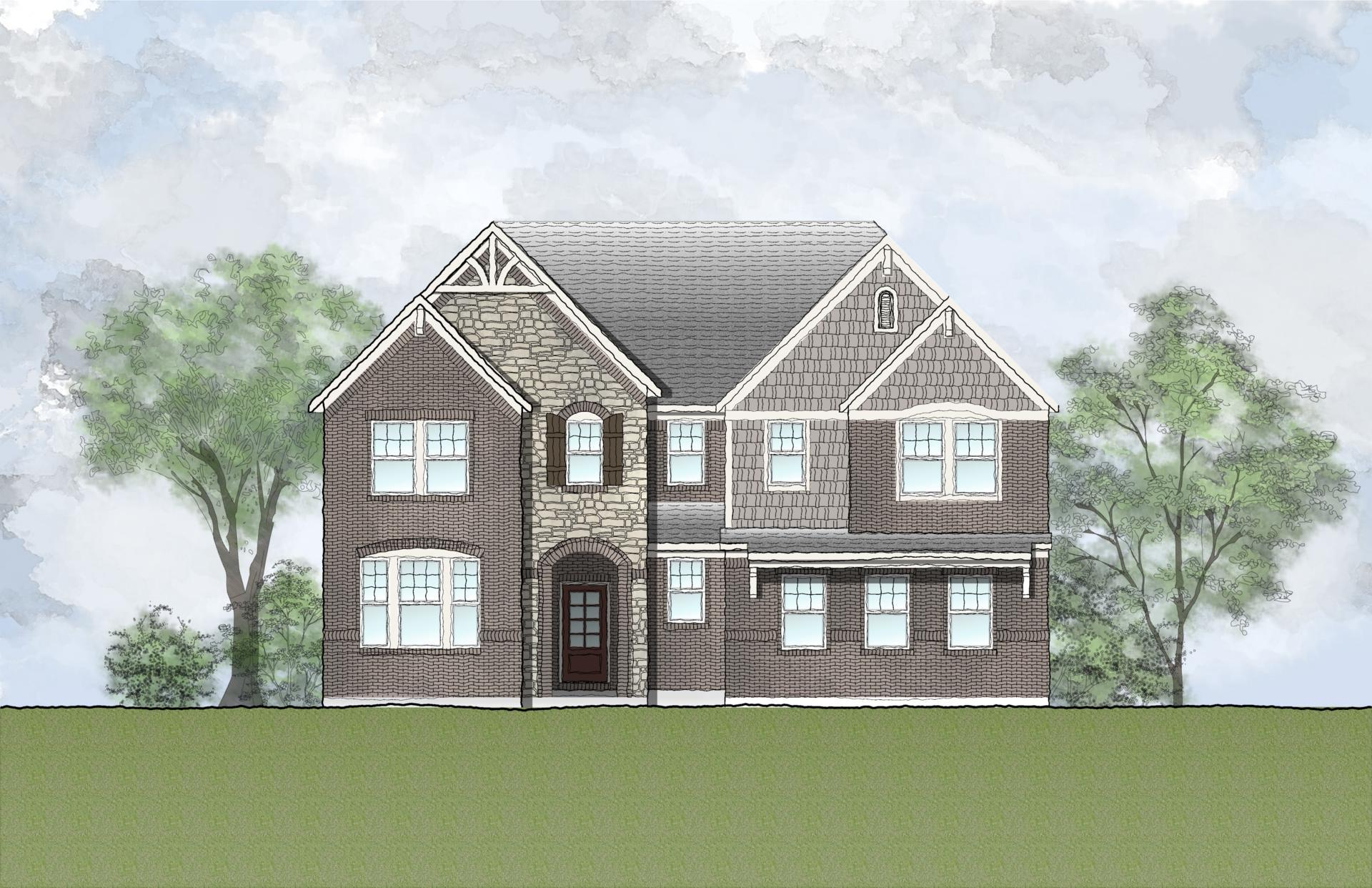 Exterior featured in the Hollister By Drees Homes in Cleveland, OH