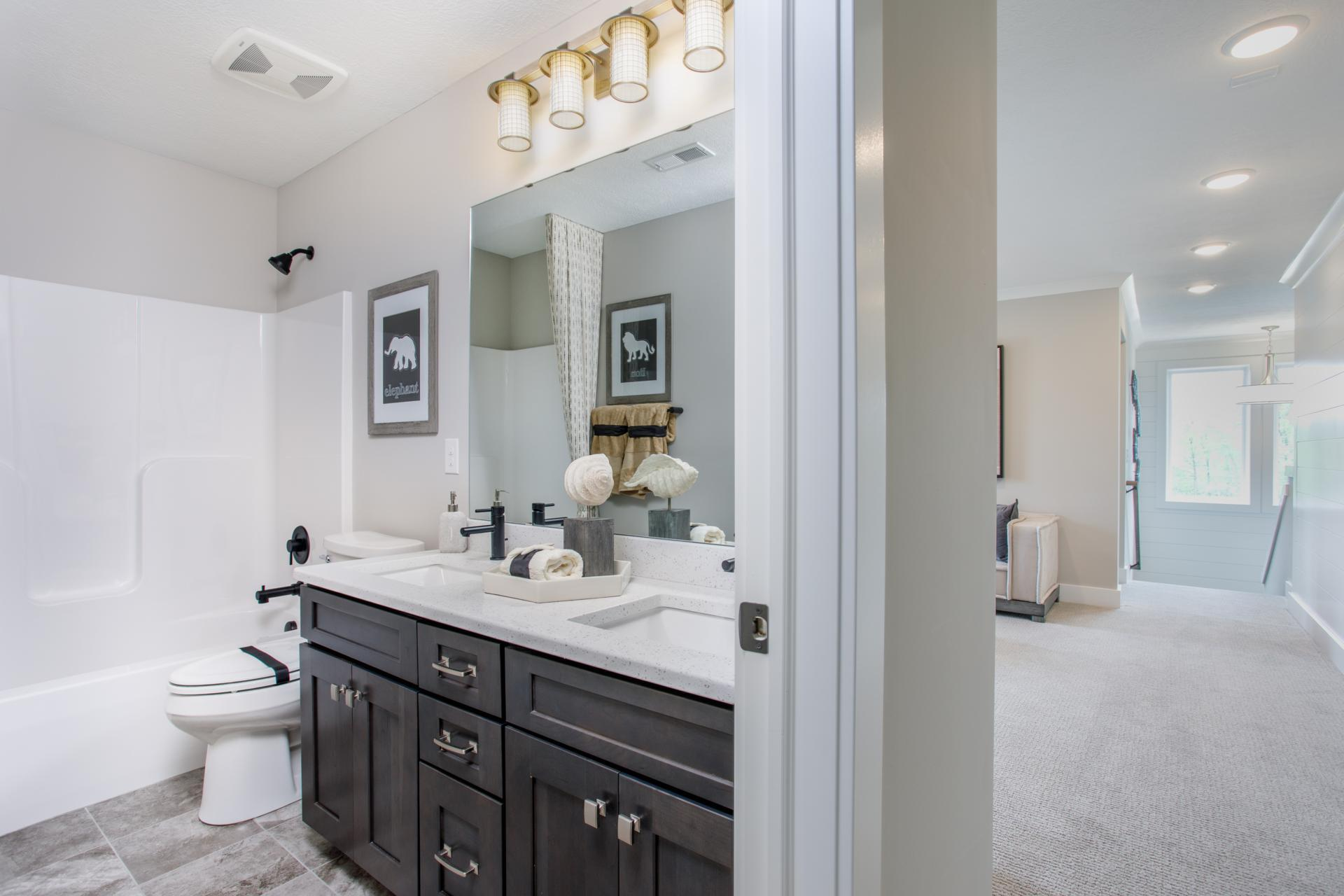 Bathroom featured in the Hollister By Drees Homes in Cleveland, OH