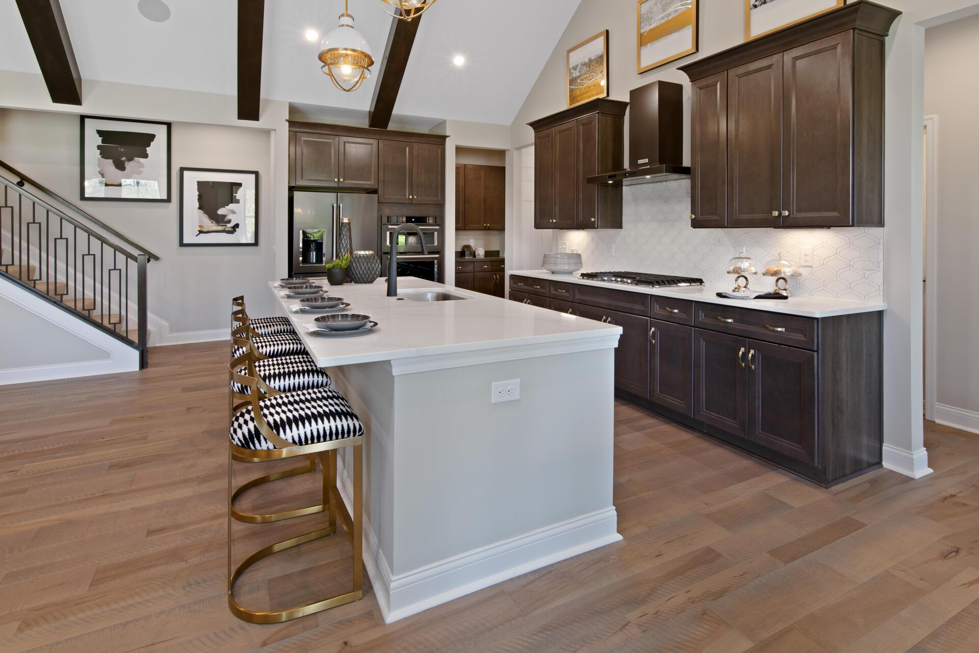 Kitchen featured in the Brennan By Drees Homes in Cincinnati, OH