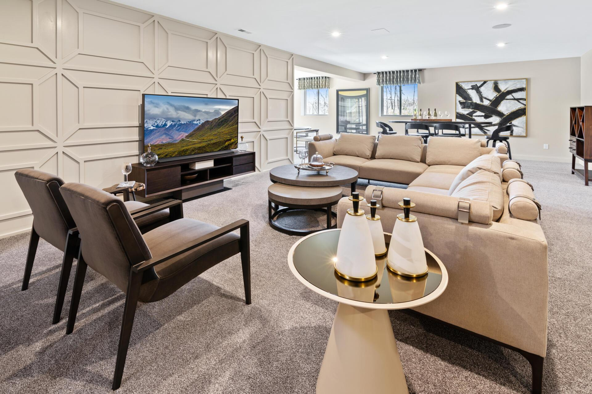 Living Area featured in the Brennan By Drees Homes in Cincinnati, KY