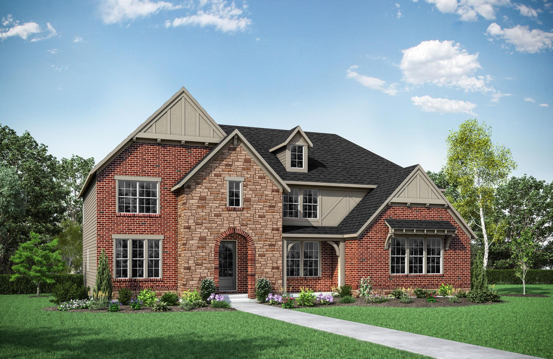 Exterior featured in the Langdon By Drees Homes in Cincinnati, OH