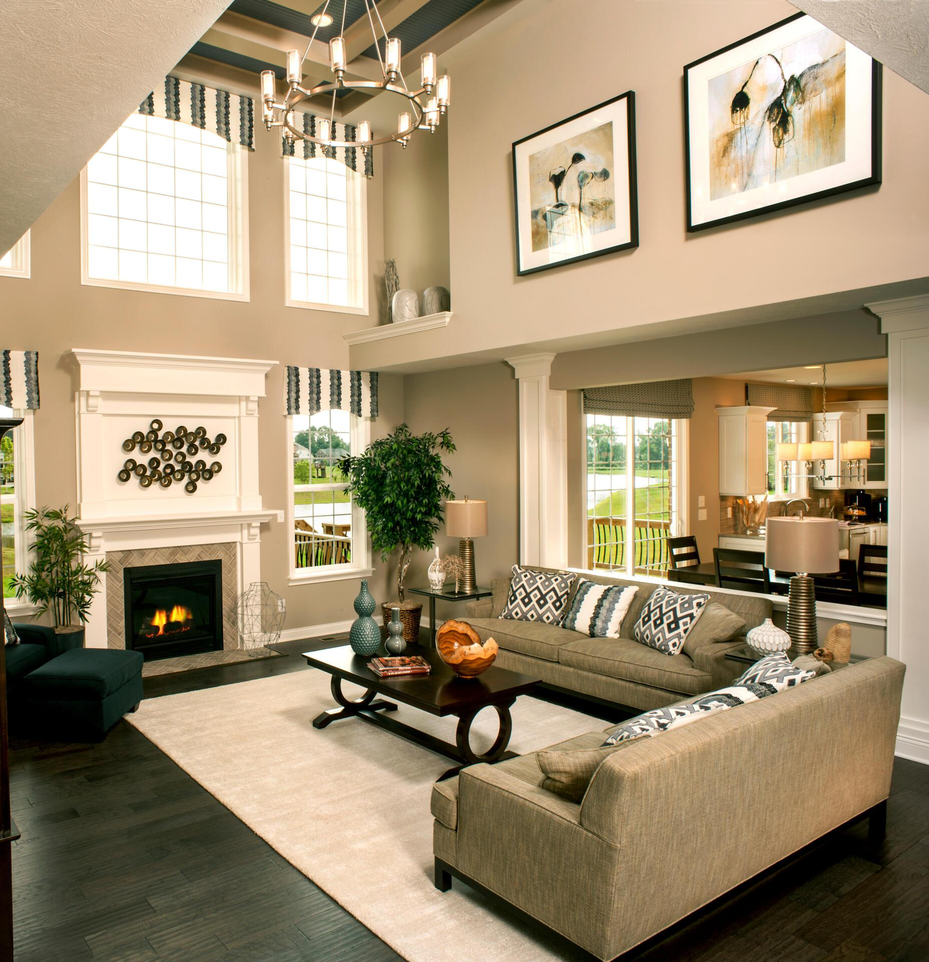 Living Area featured in the Langdon By Drees Homes in Cincinnati, OH