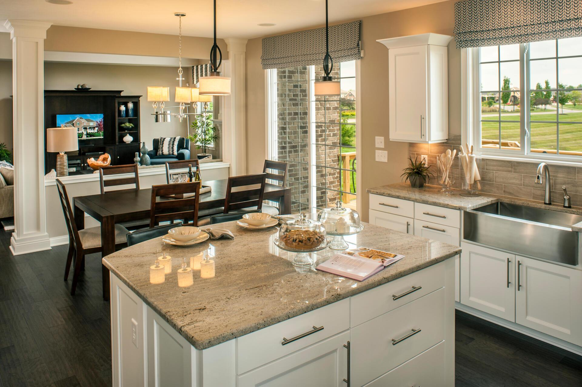 Kitchen featured in the Langdon By Drees Homes in Cincinnati, OH