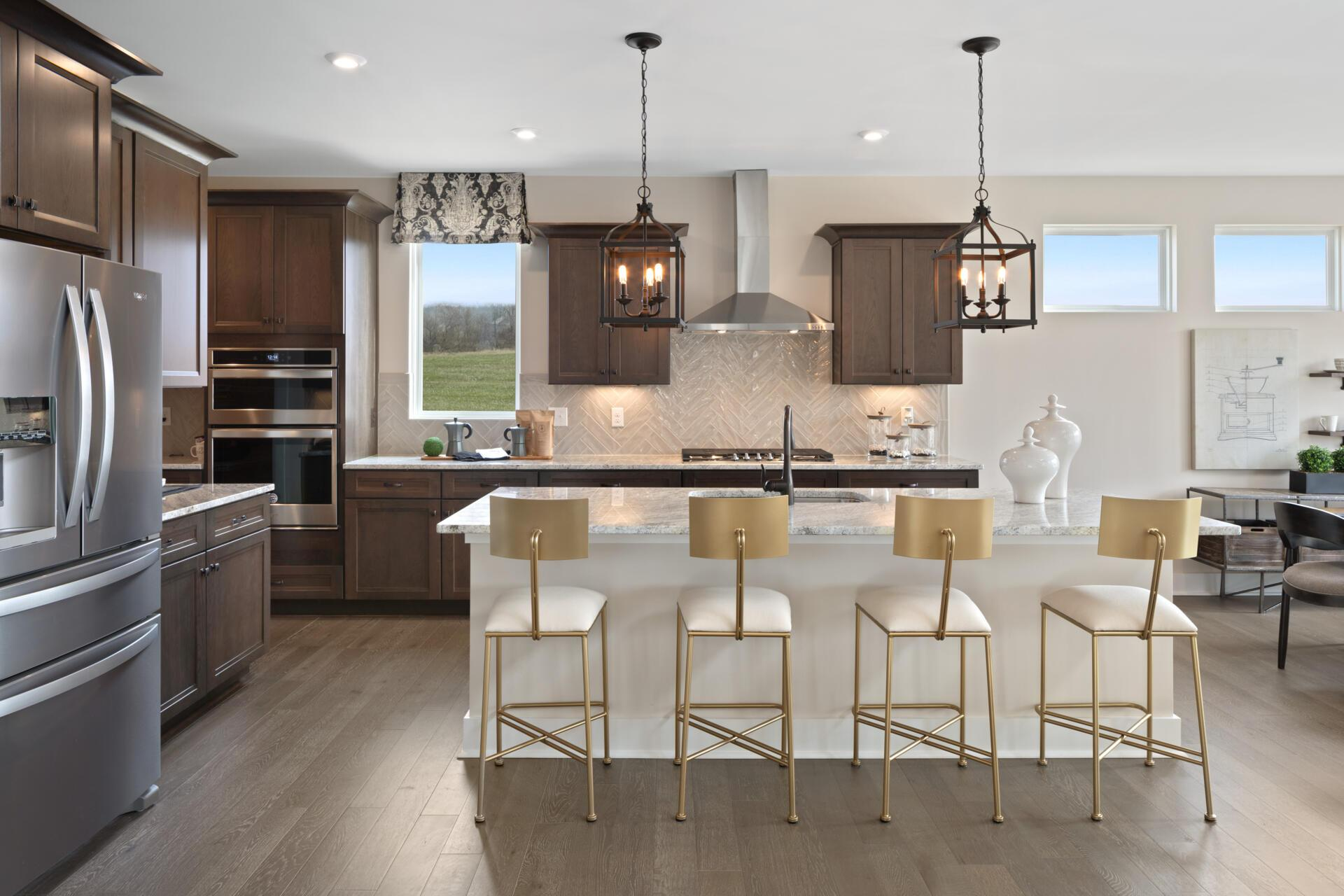 Kitchen featured in the Bennett By Drees Homes in Cincinnati, OH