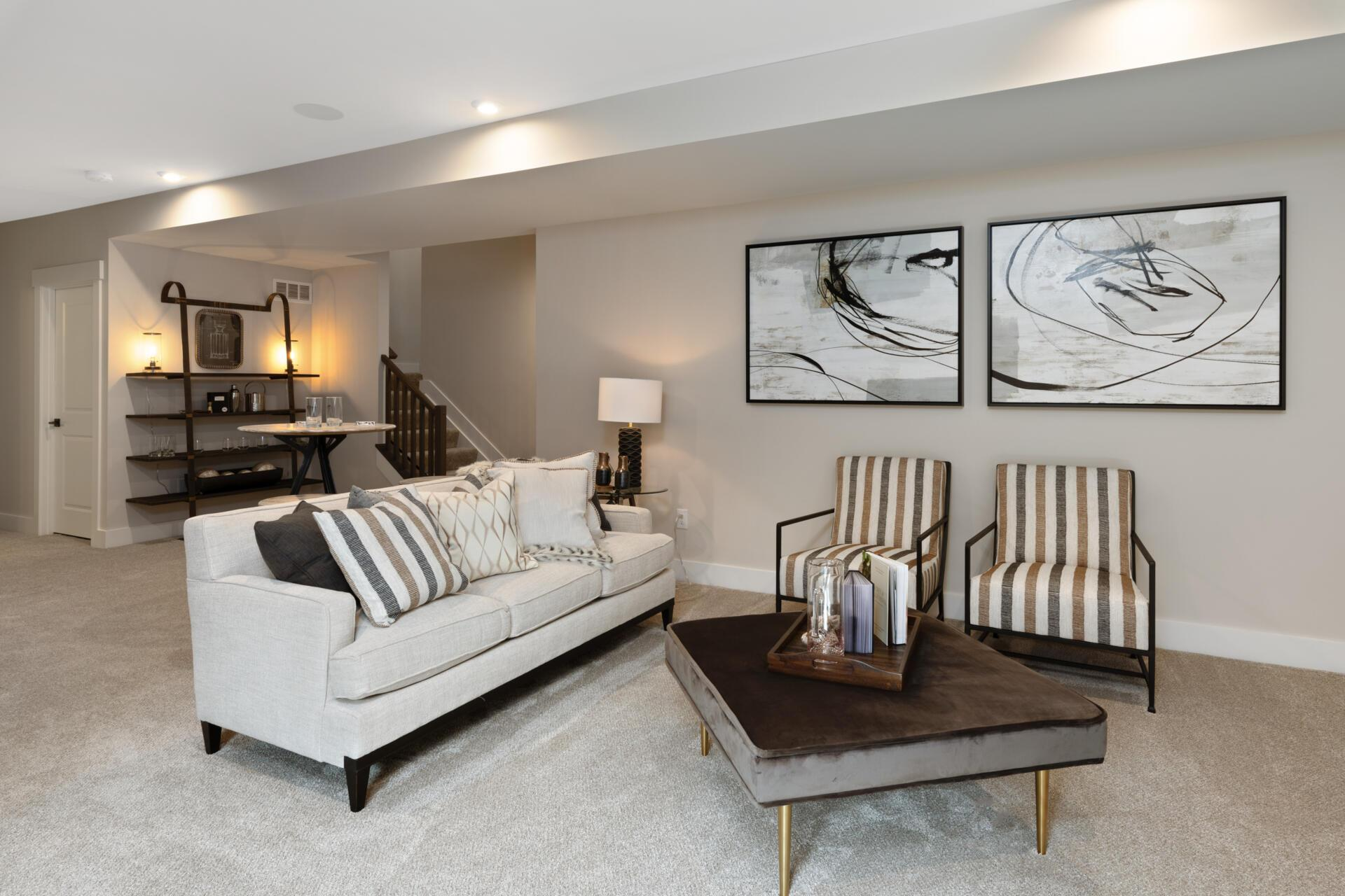 Living Area featured in the Bennett By Drees Homes in Cincinnati, KY