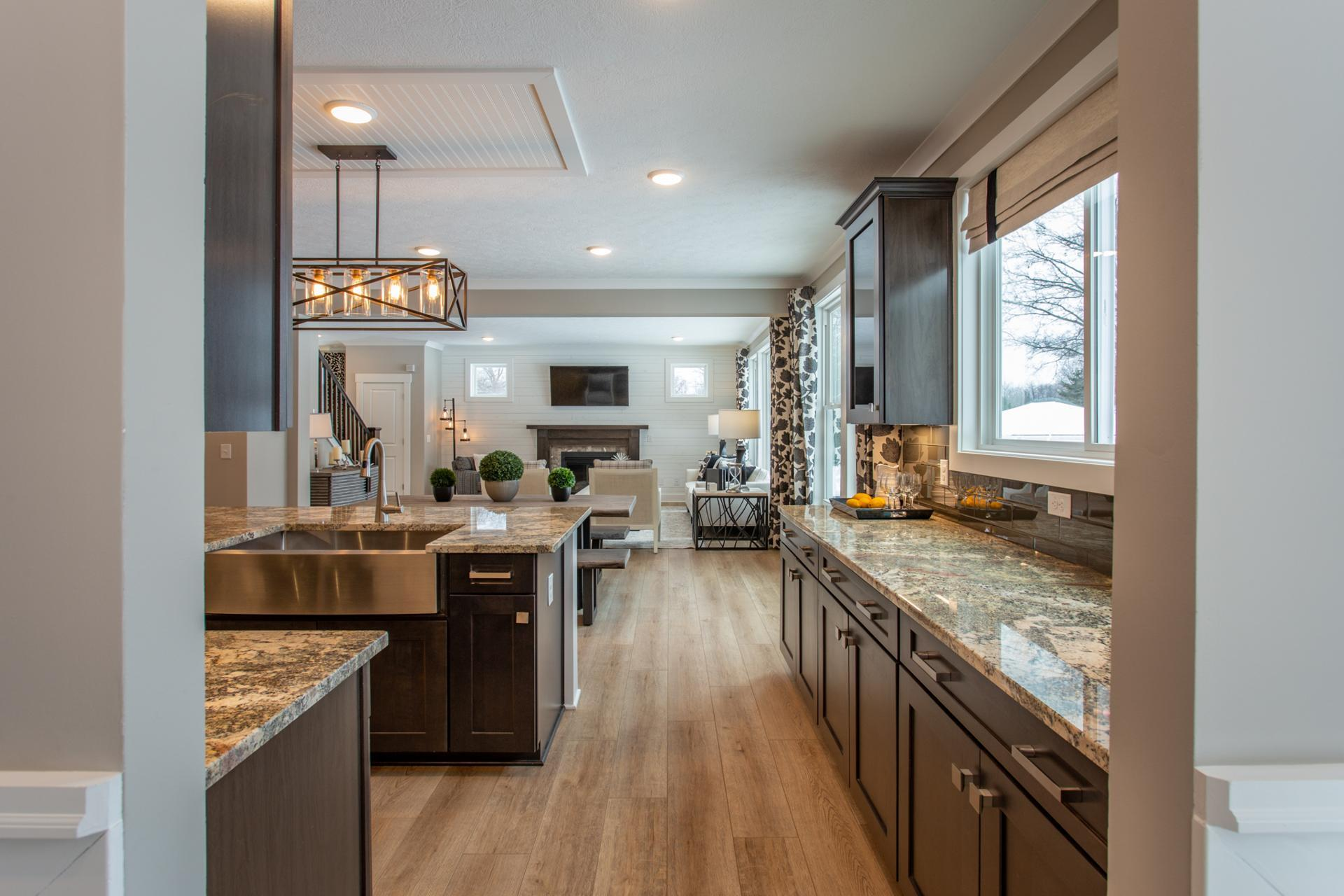 Kitchen featured in the Ashton By Drees Homes in Cleveland, OH