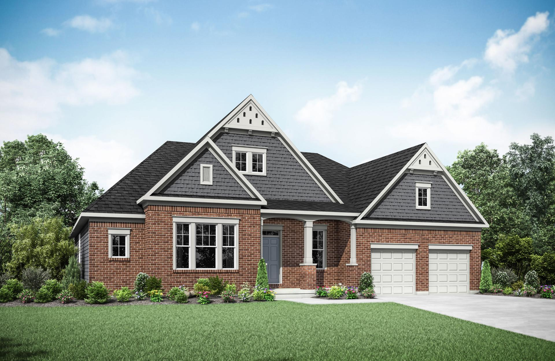 Exterior featured in the Lyndhurst By Drees Homes in Cleveland, OH