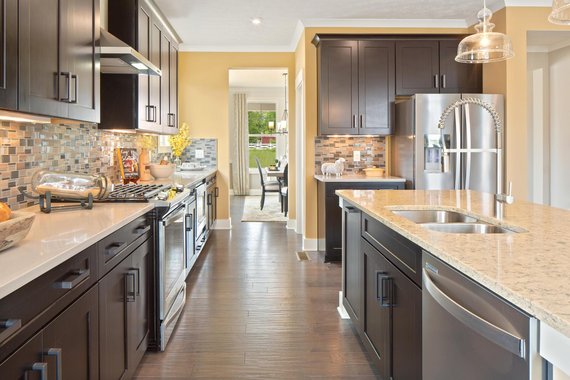 Kitchen featured in the Northwood By Drees Homes in Cleveland, OH