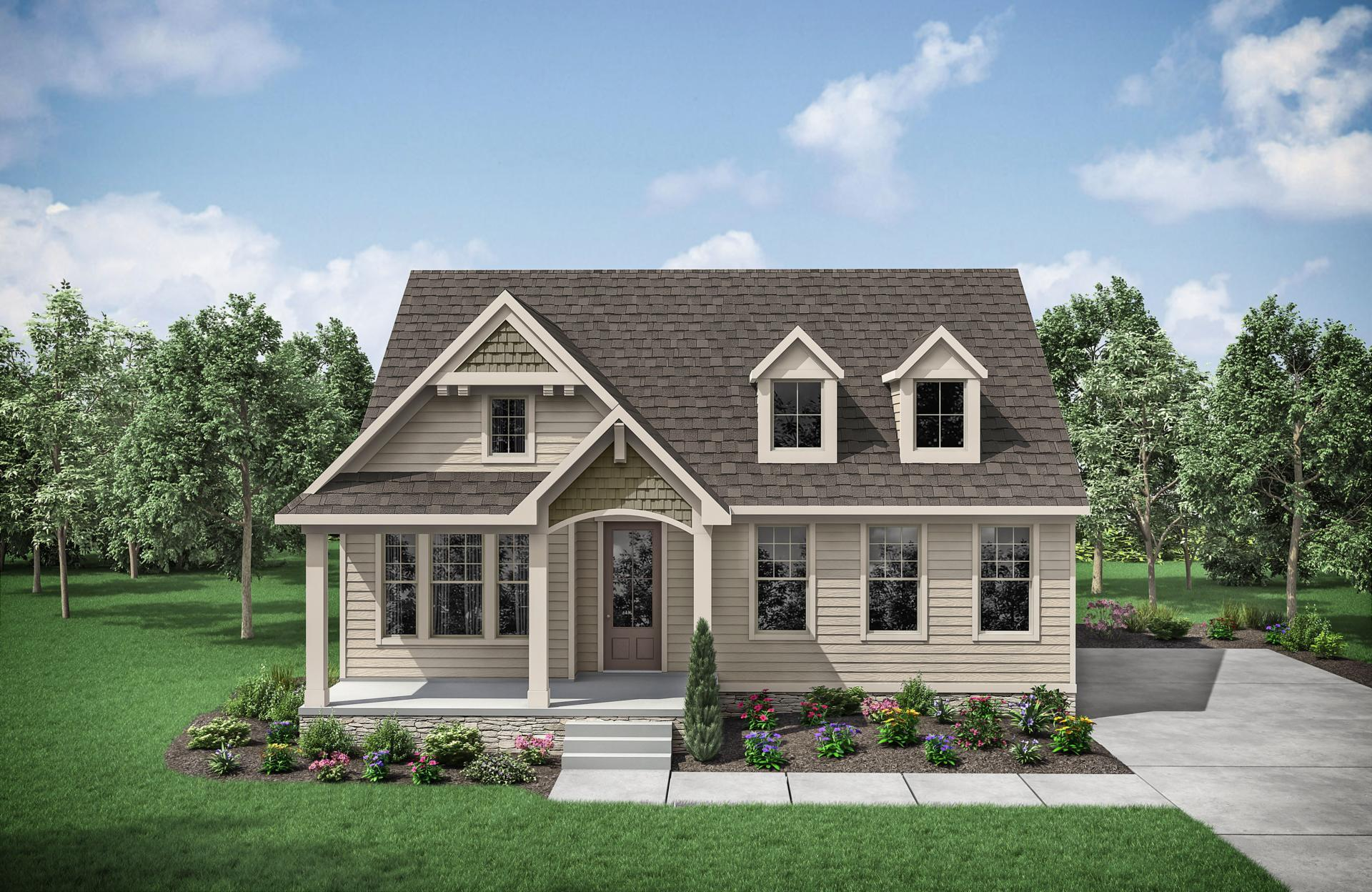 Exterior featured in the Abigail By Drees Homes in Nashville, TN